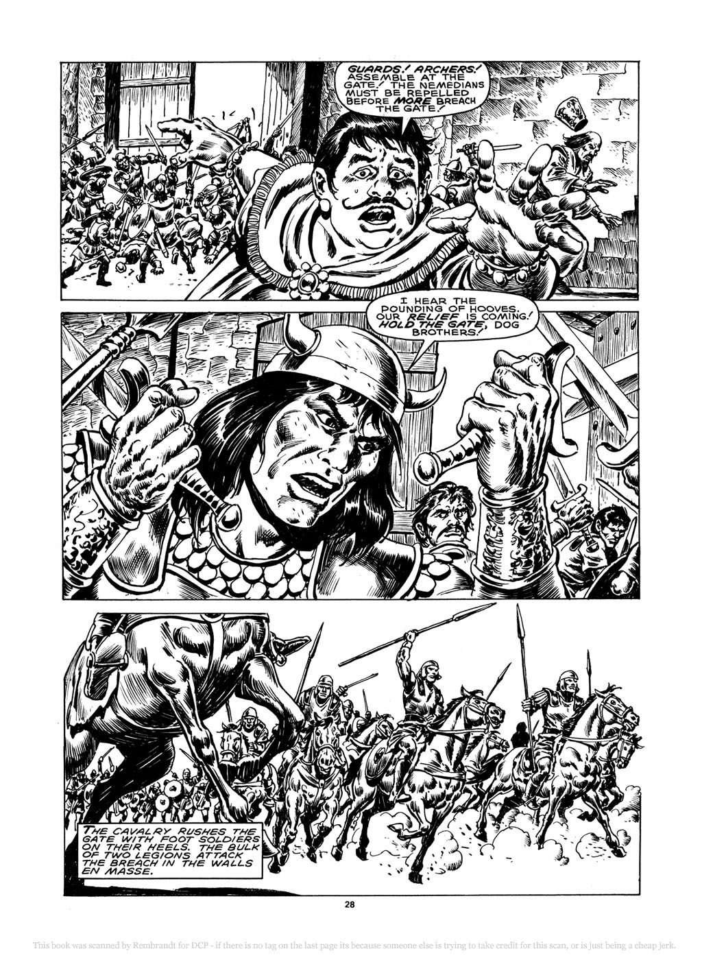 The Savage Sword Of Conan Issue #148 #149 - English 27