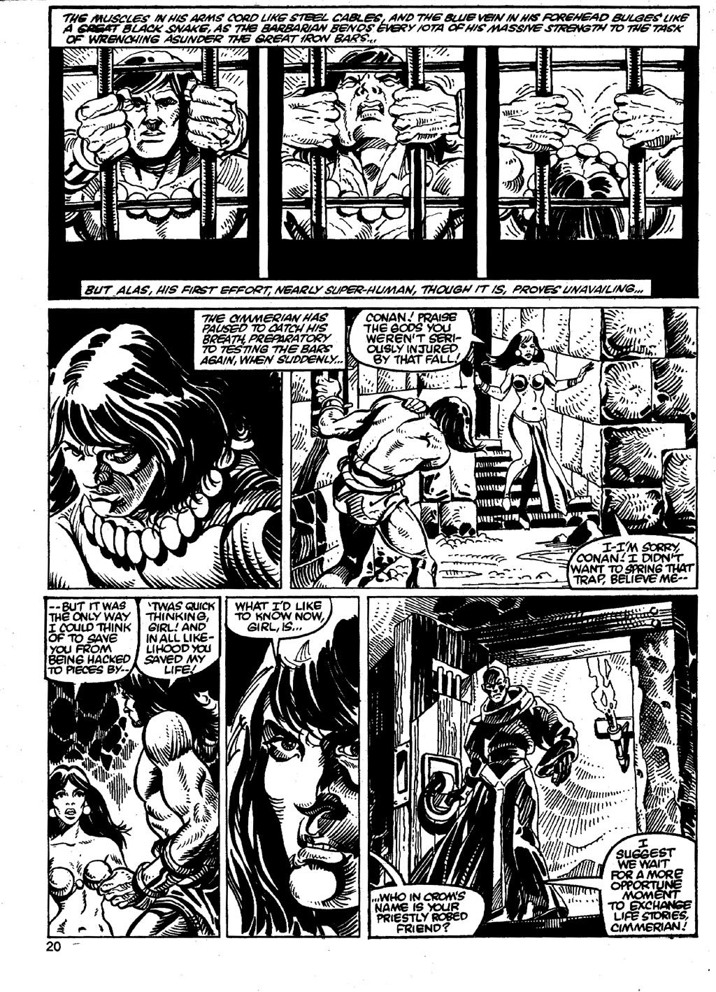The Savage Sword Of Conan Issue #86 #87 - English 20