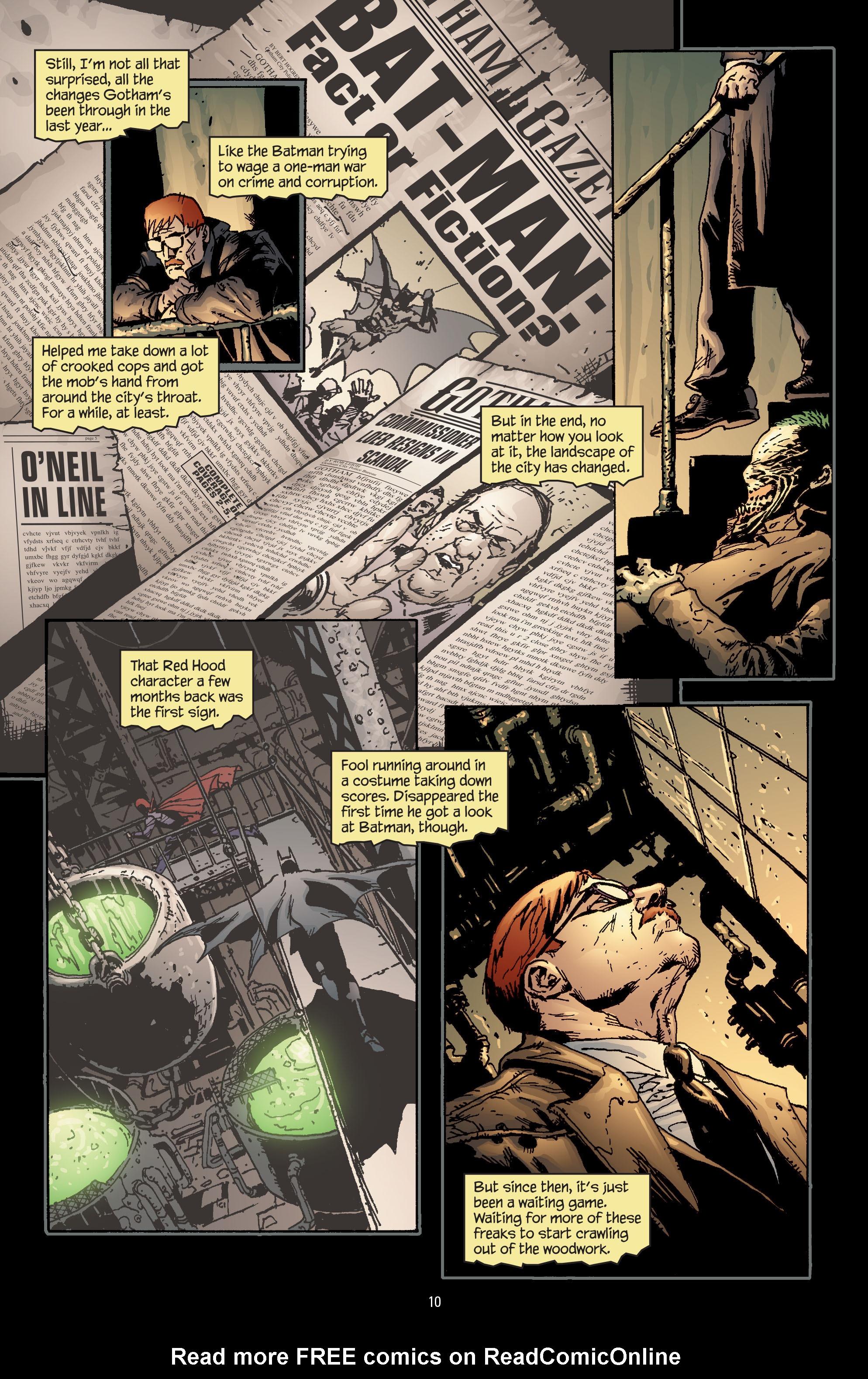 Batman: The Man Who Laughs chap 1 pic 11