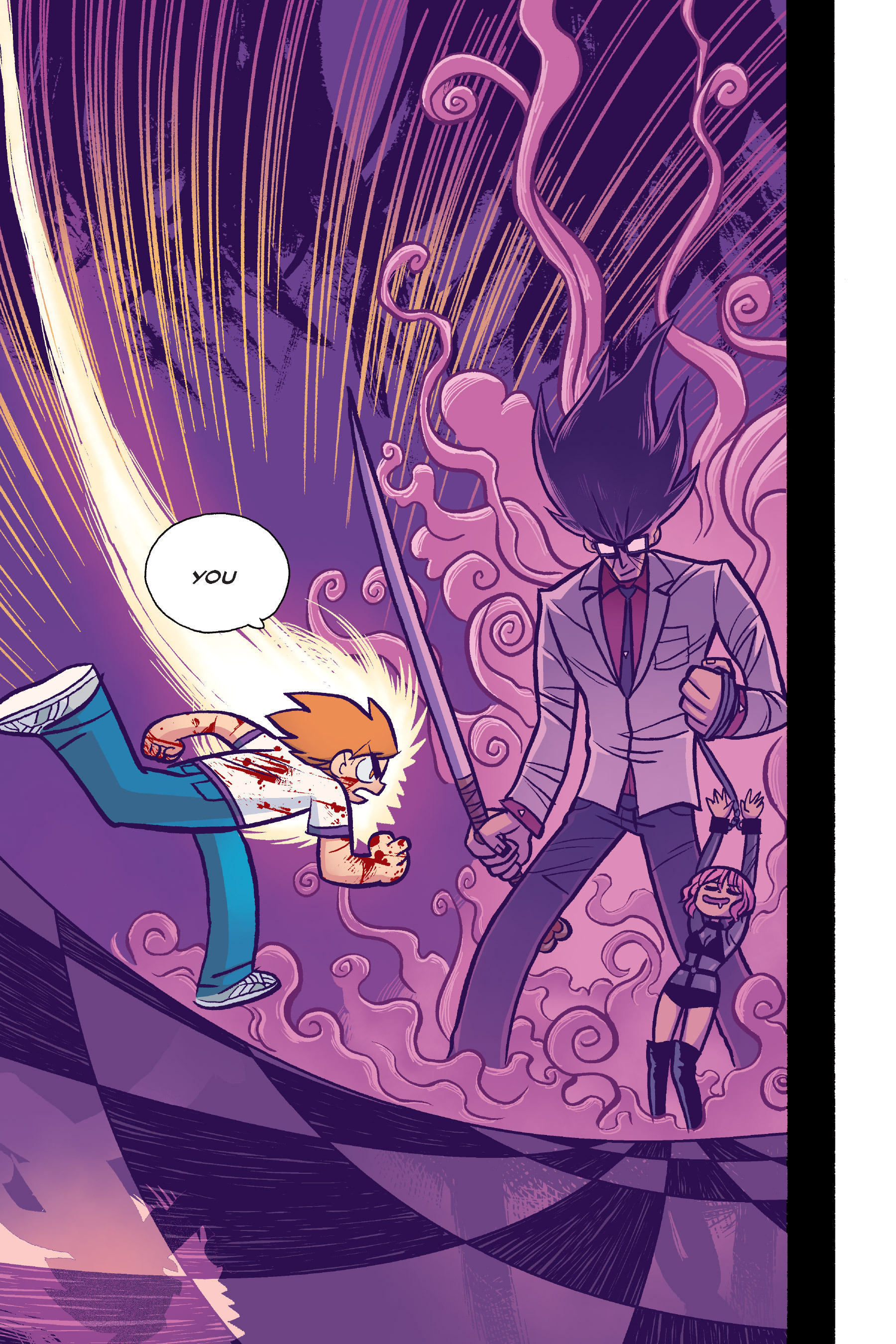 Read online Scott Pilgrim comic -  Issue #6 - 172