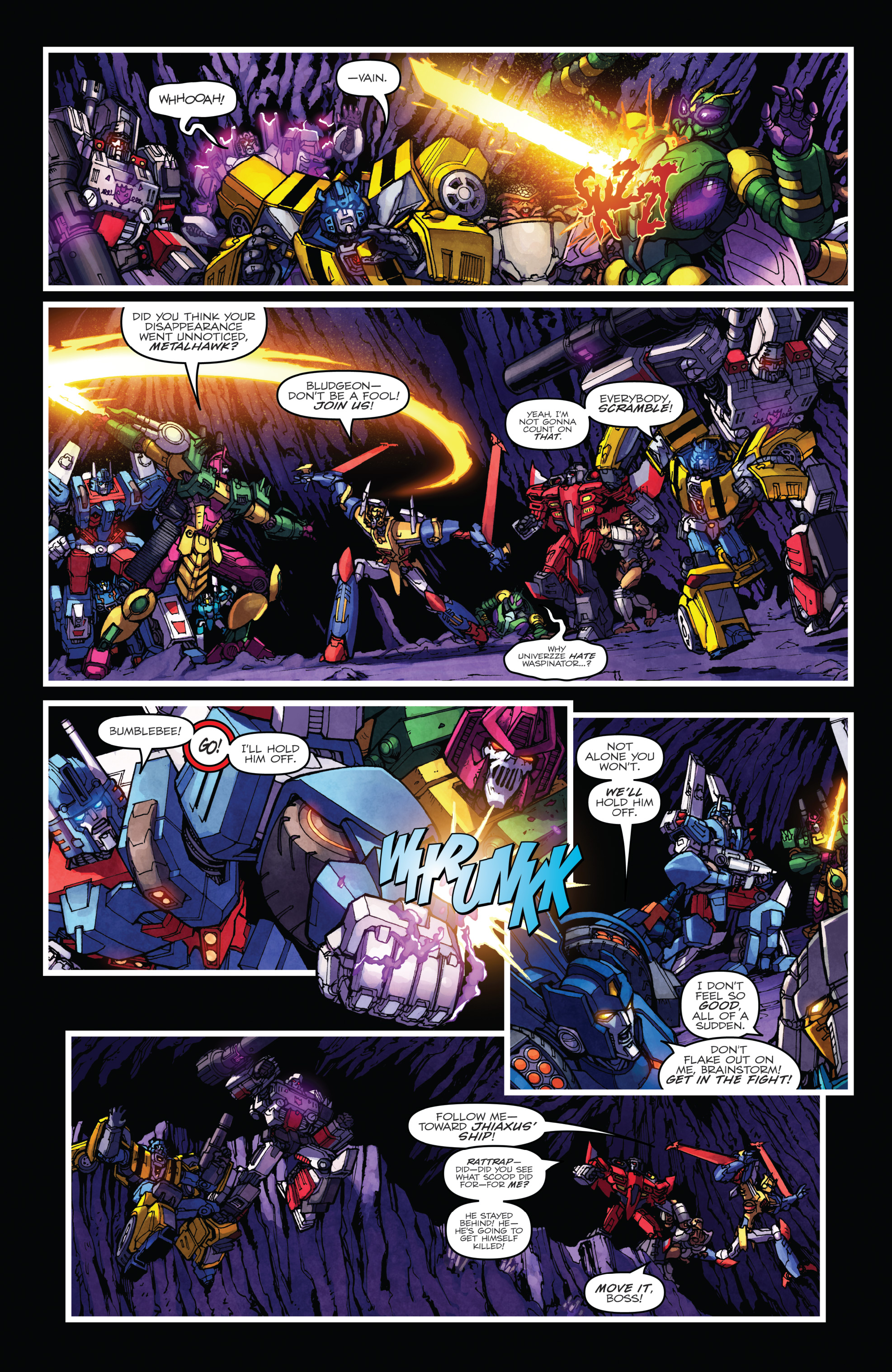 Read online The Transformers: Dark Cybertron Finale comic -  Issue # Full - 115