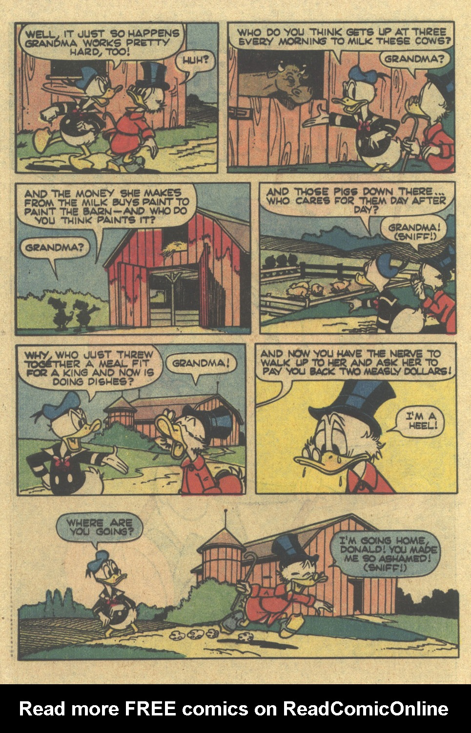 Uncle Scrooge (1953) Issue #185 #185 - English 32