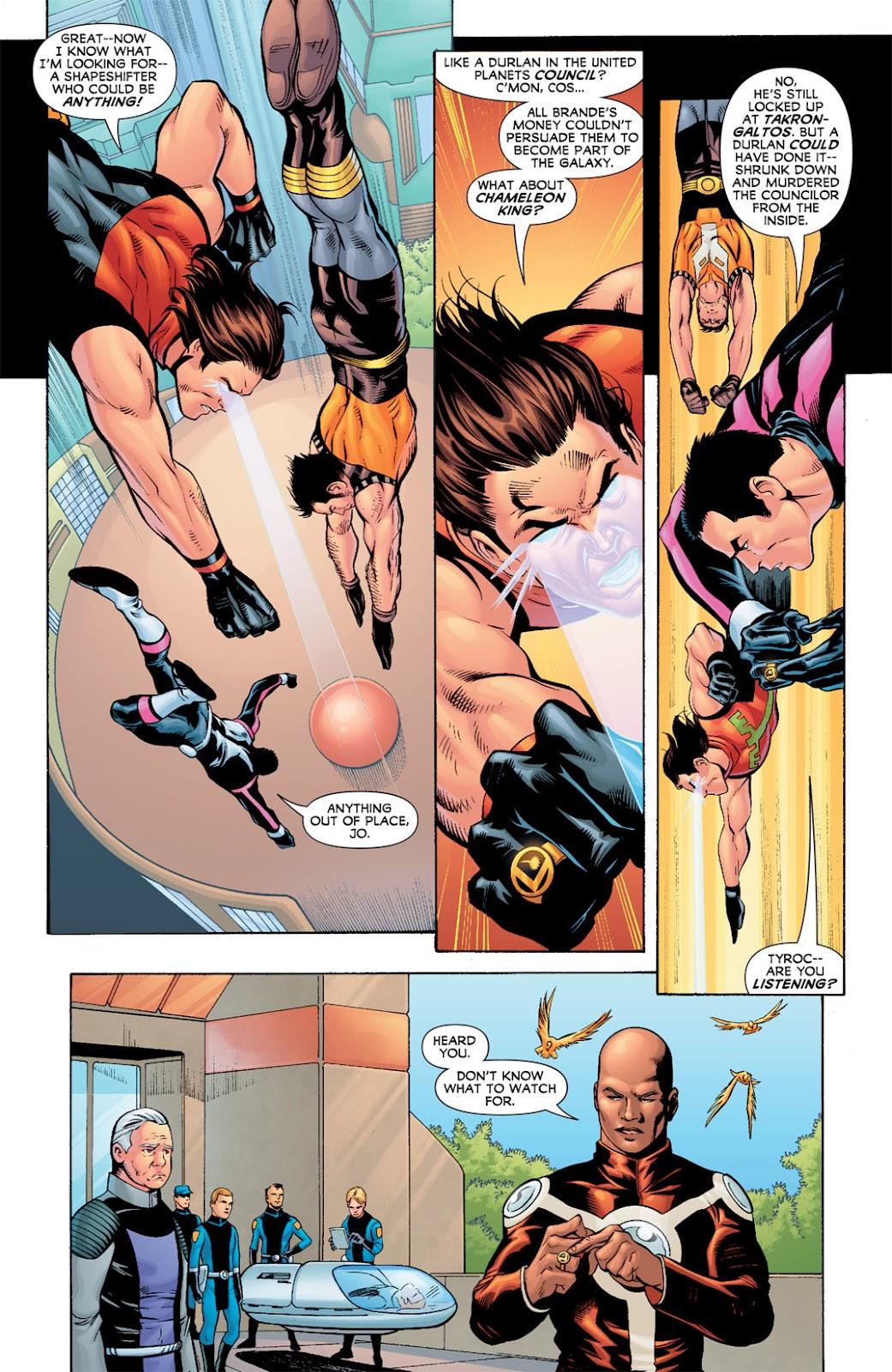 Legion of Super-Heroes (2010) Issue #7 #8 - English 9
