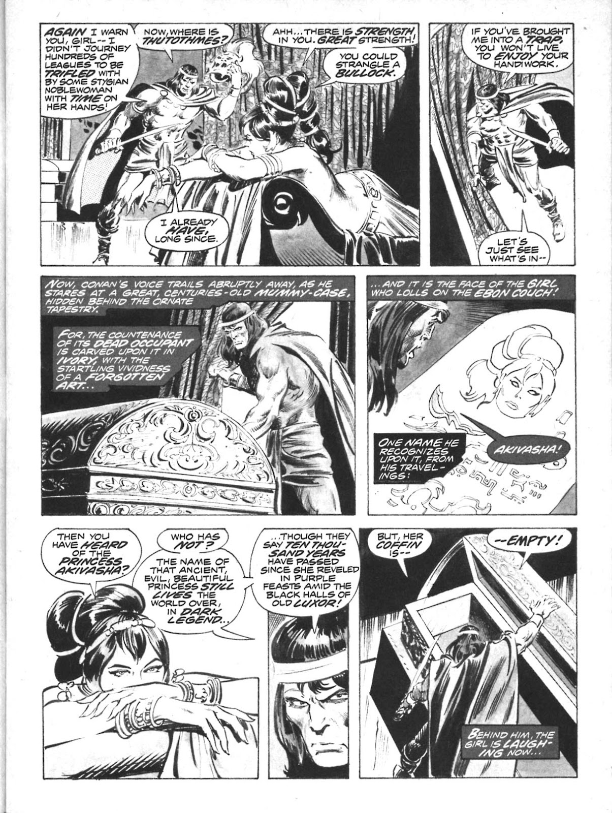 The Savage Sword Of Conan Issue #10 #11 - English 17