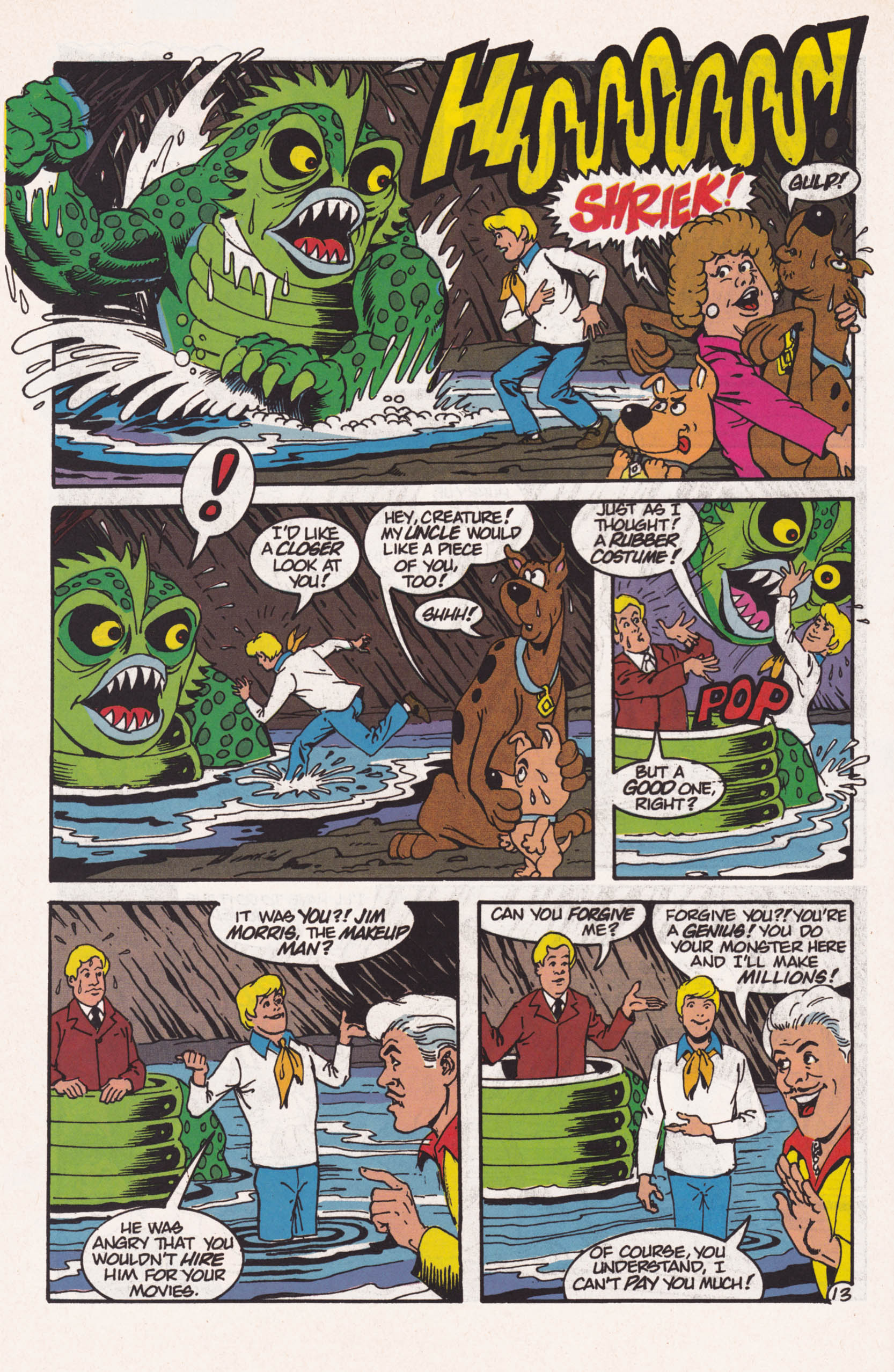 Read online Scooby-Doo (1995) comic -  Issue #1 - 14