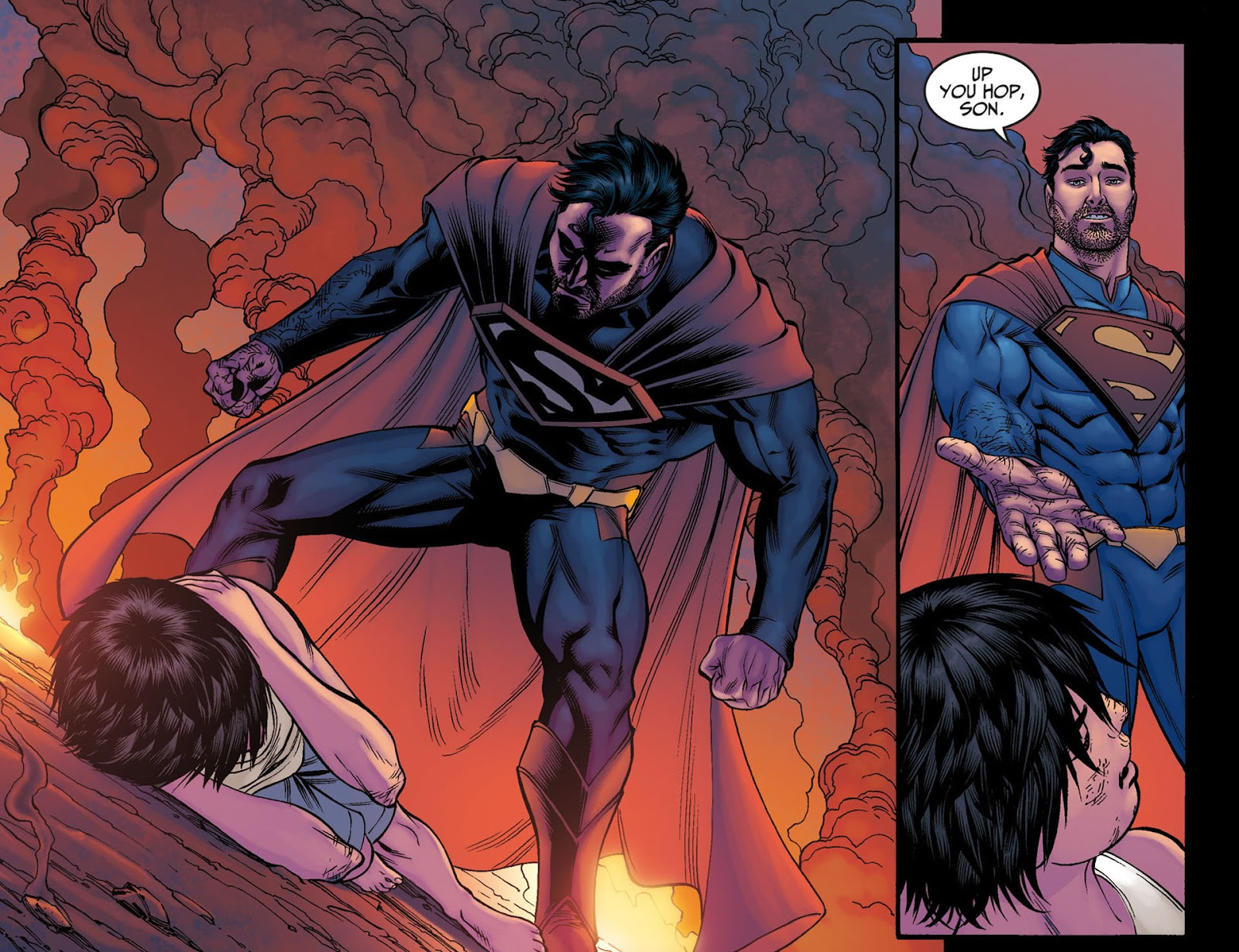 Injustice: Gods Among Us [I] Issue #6 #7 - English 9