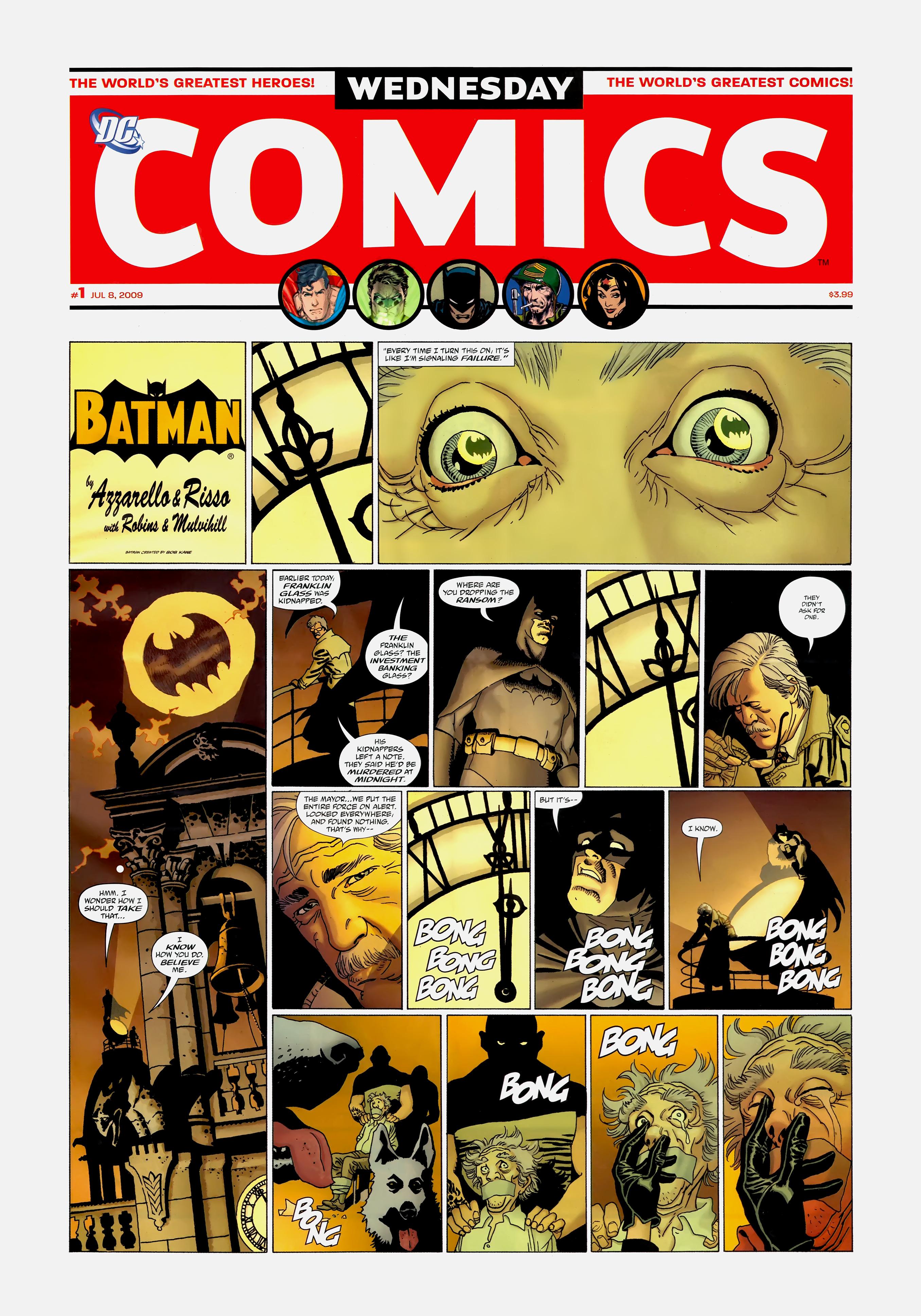 Read online Wednesday Comics comic -  Issue #1 - 3