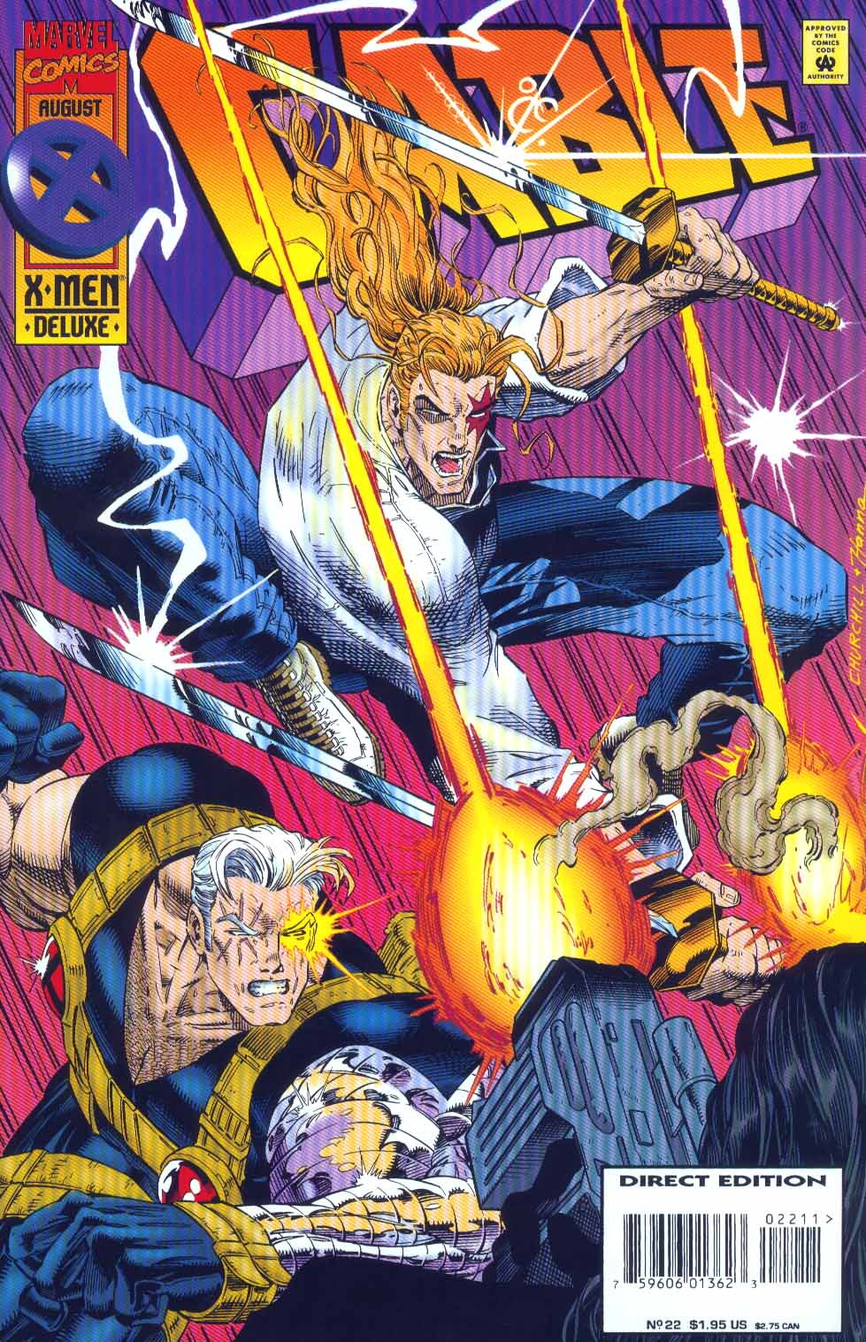 Cable (1993) 22 Page 1