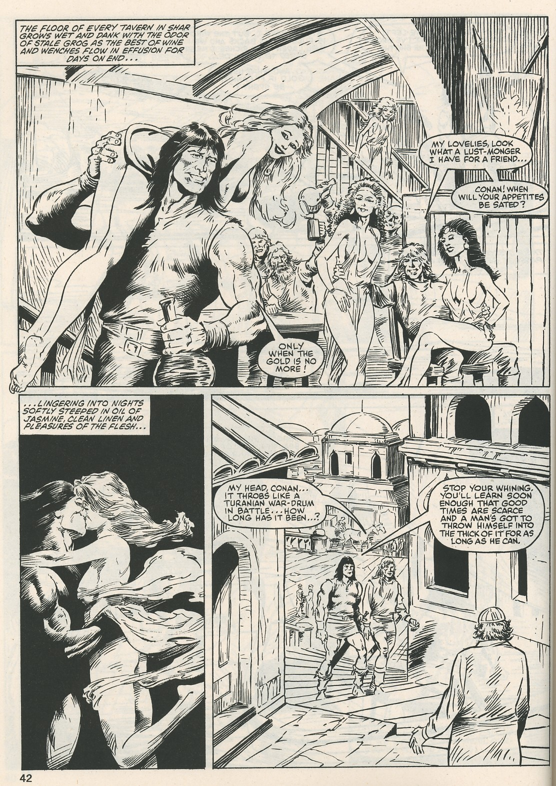 The Savage Sword Of Conan Issue #115 #116 - English 42