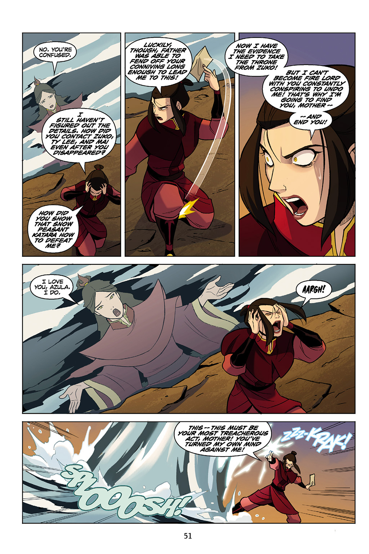 Read online Nickelodeon Avatar: The Last Airbender - The Search comic -  Issue # Part 1 - 52
