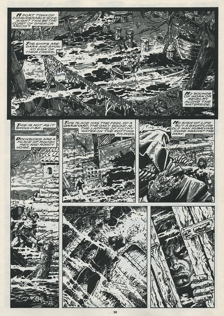 The Savage Sword Of Conan Issue #176 #177 - English 32