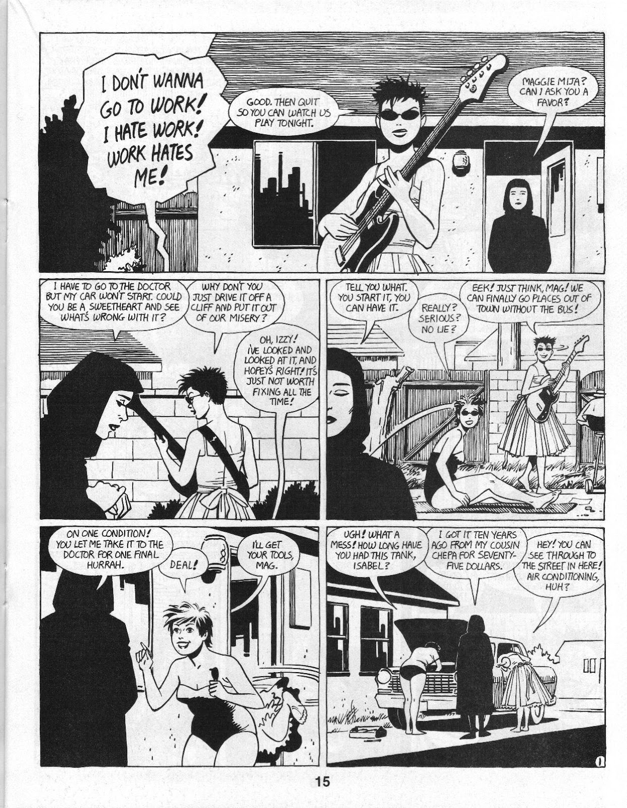 Love and Rockets (1982) Issue #14 #13 - English 17