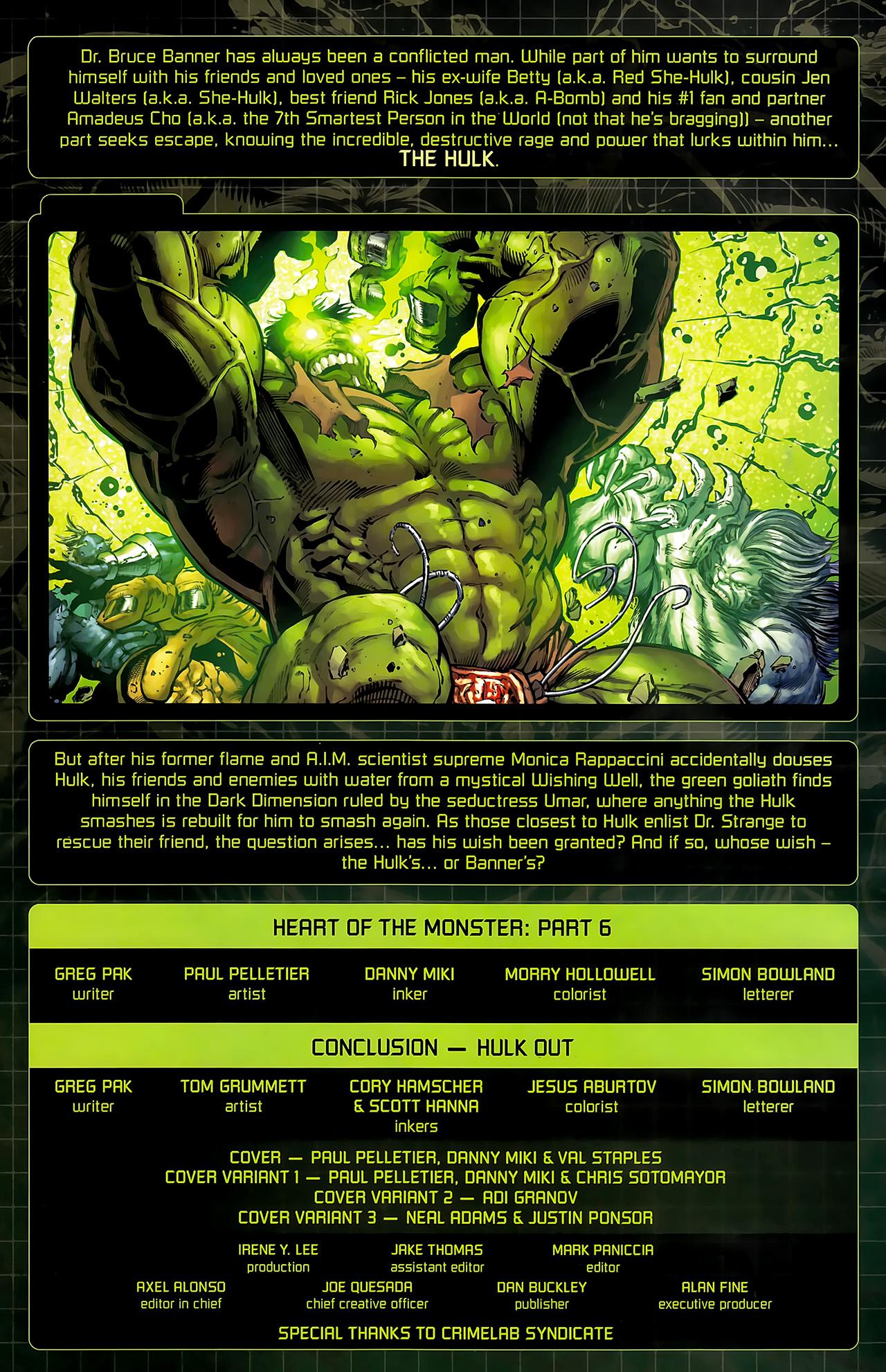 Incredible Hulks (2010) #635 #26 - English 5