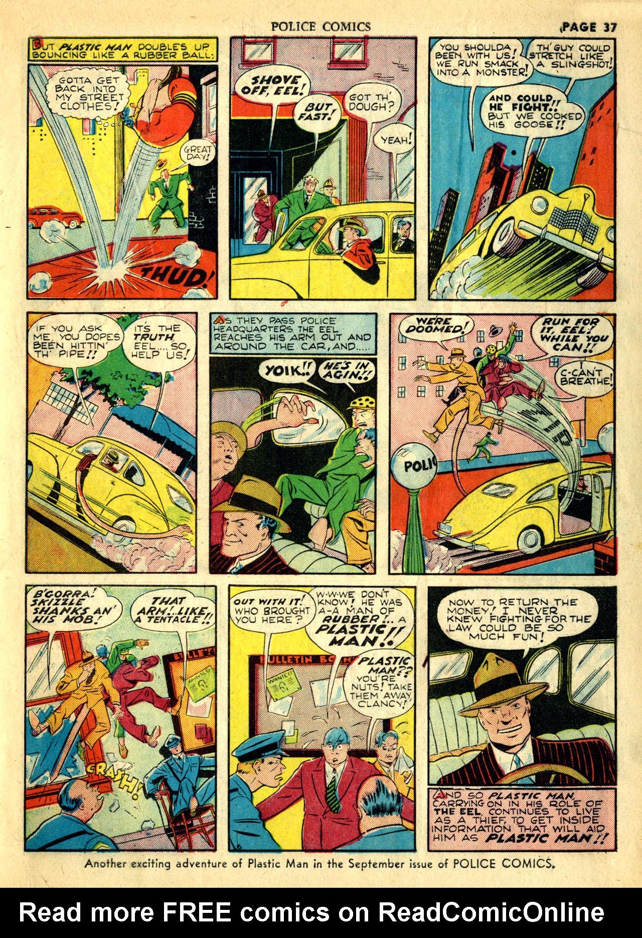 Police Comics #1 #127 - English 40