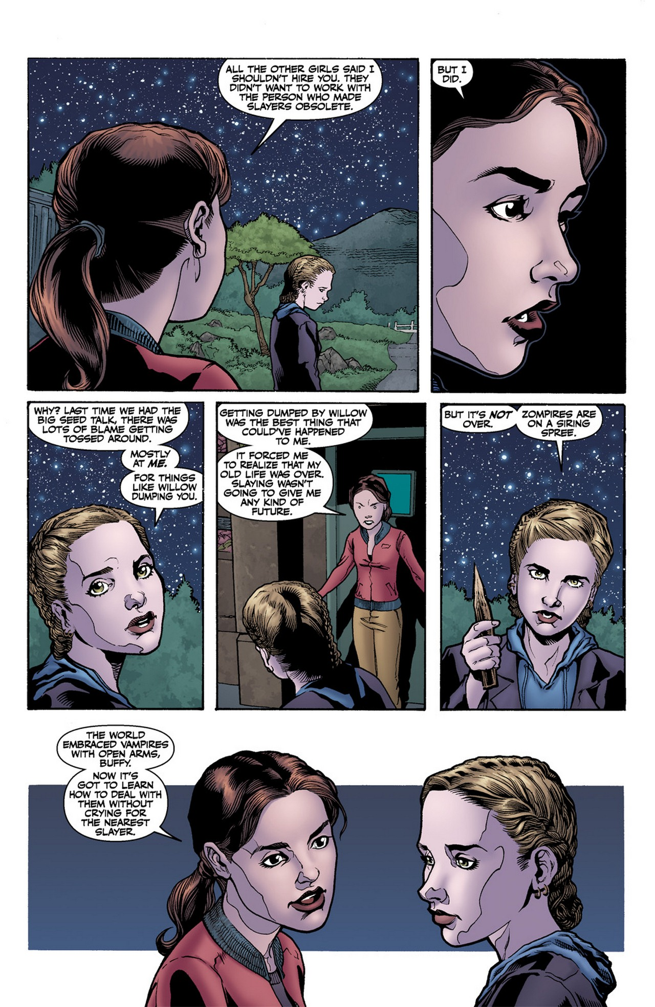 Read online Buffy the Vampire Slayer Season Nine comic -  Issue #11 - 17