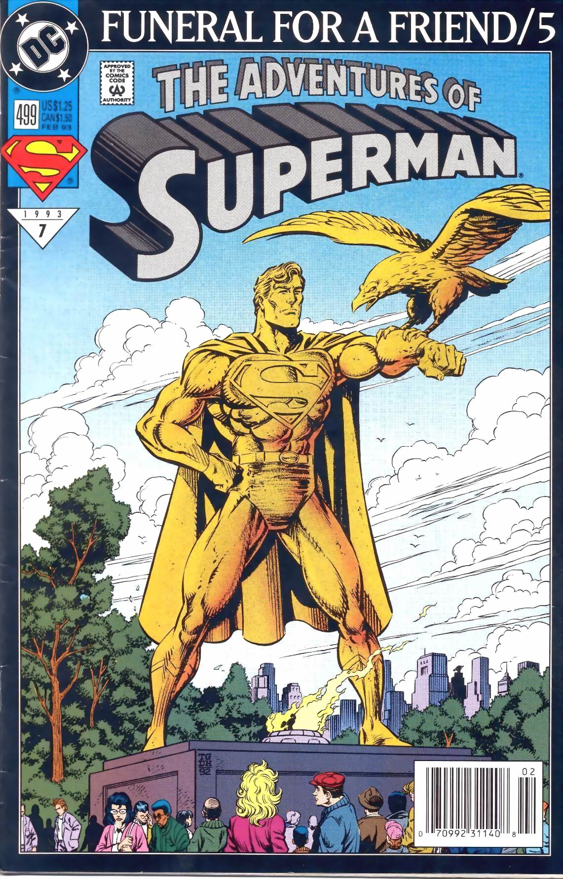 Adventures of Superman (1987) 499 Page 1