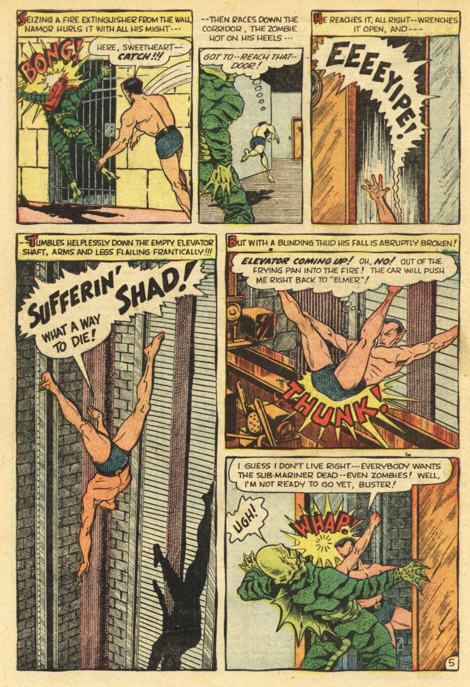 Sub-Mariner Comics #35 #35 - English 30