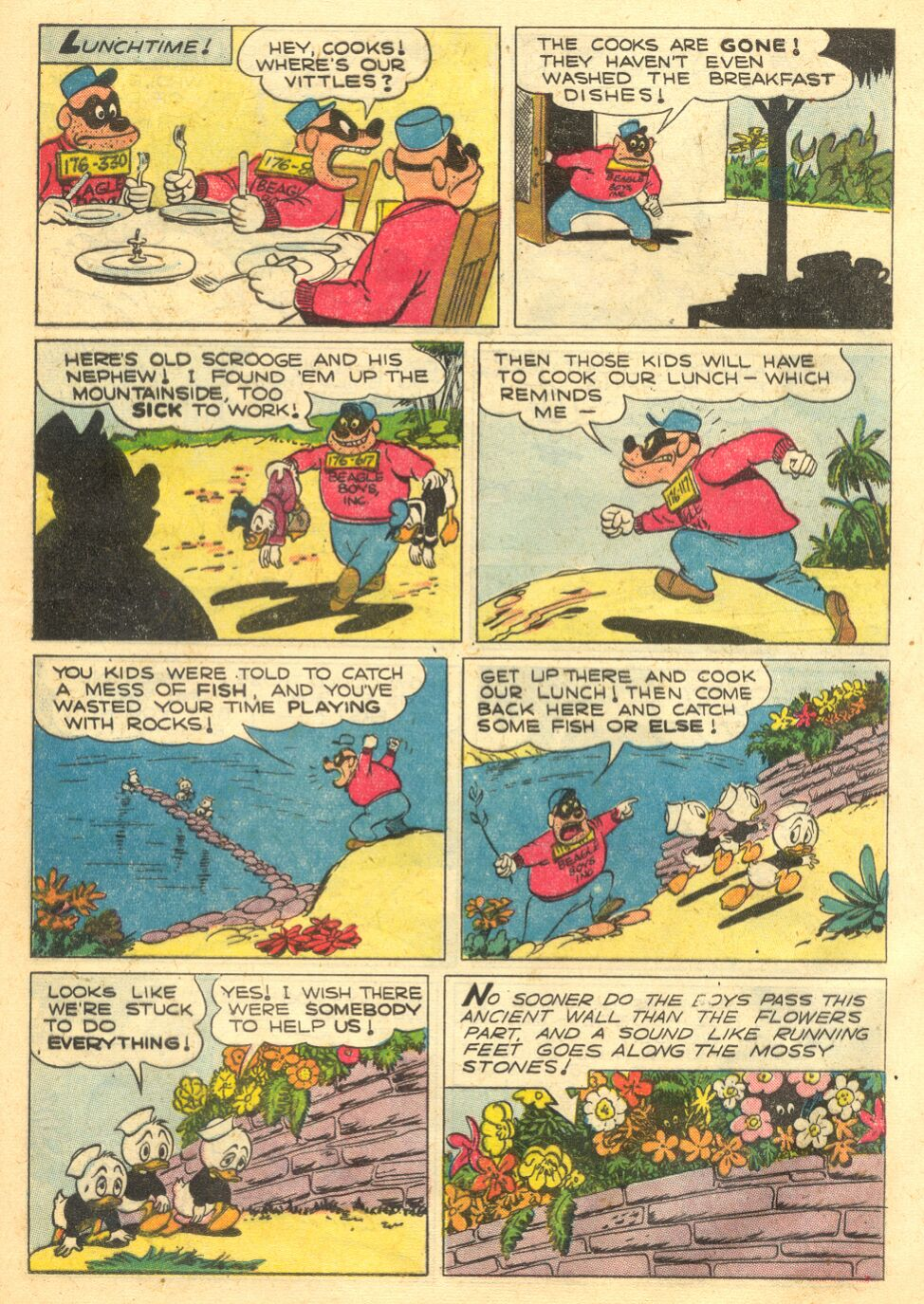 Uncle Scrooge (1953) Issue #4 #4 - English 25