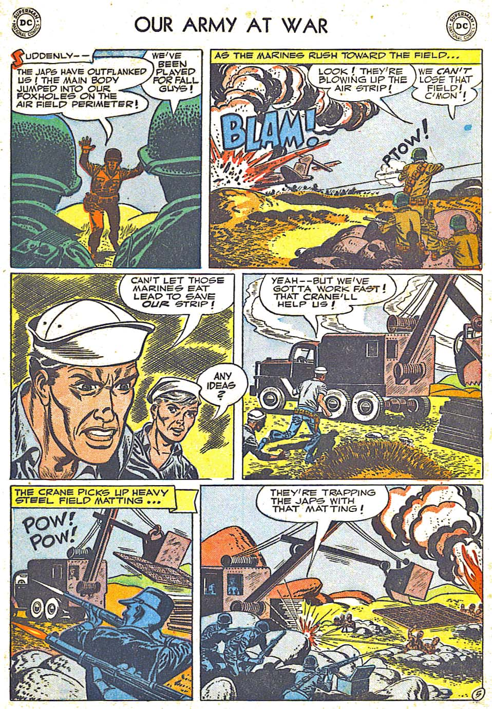 Our Army at War (1952) #1 #301 - English 33