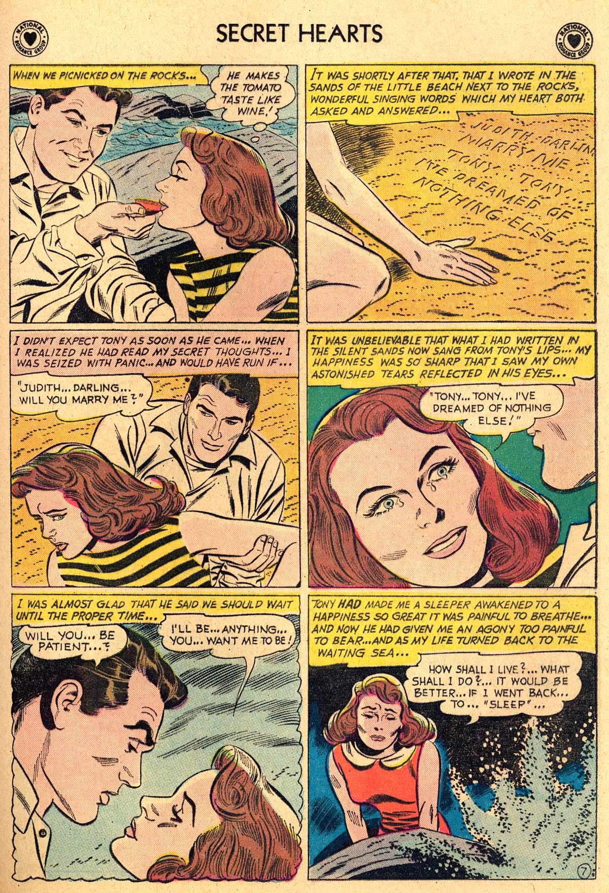 Read online Secret Hearts comic -  Issue #69 - 33
