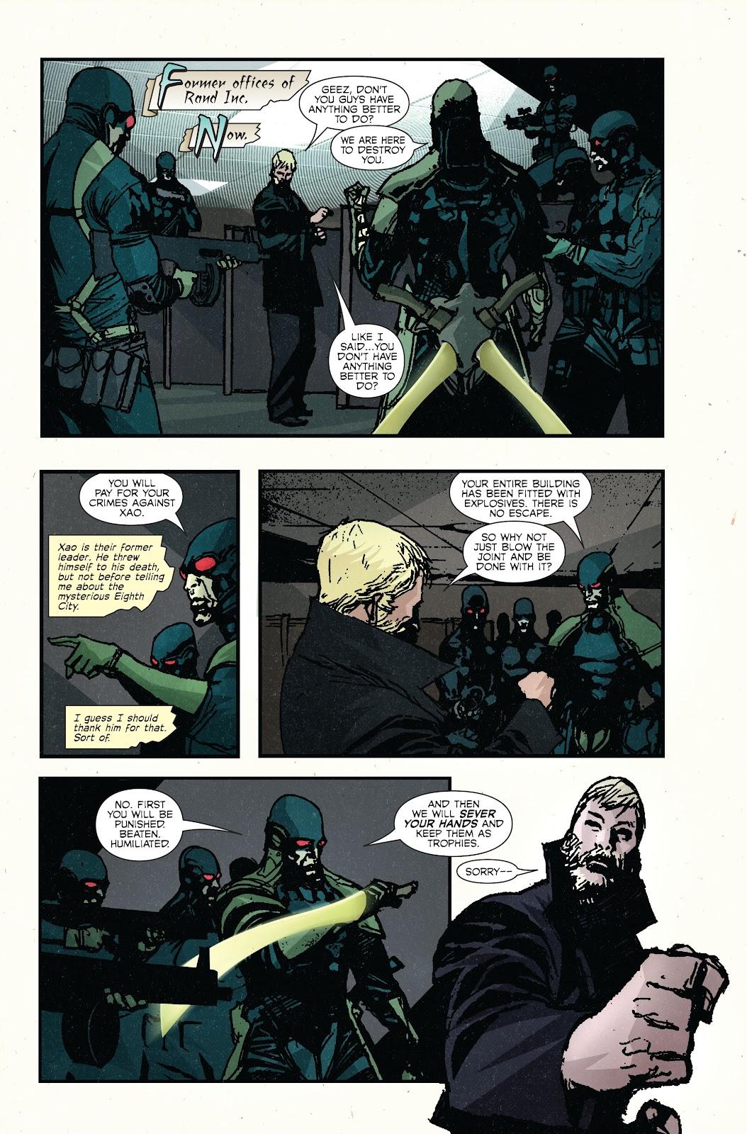 The Immortal Iron Fist Issue #27 #28 - English 7