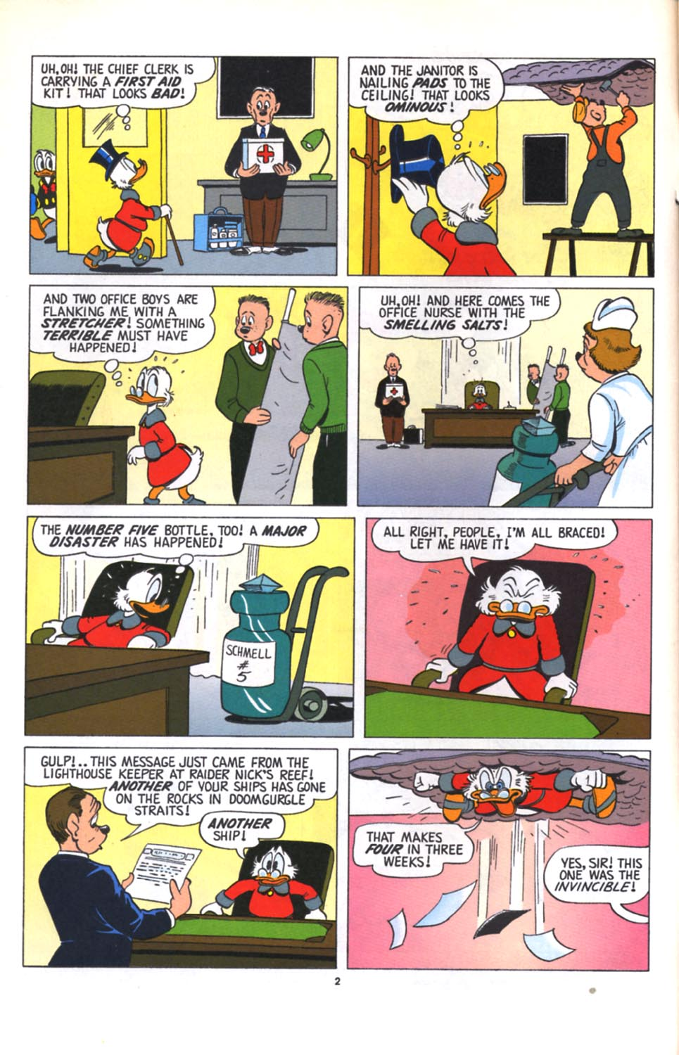 ll>Uncle Scrooge (1953)  #125 - English 3