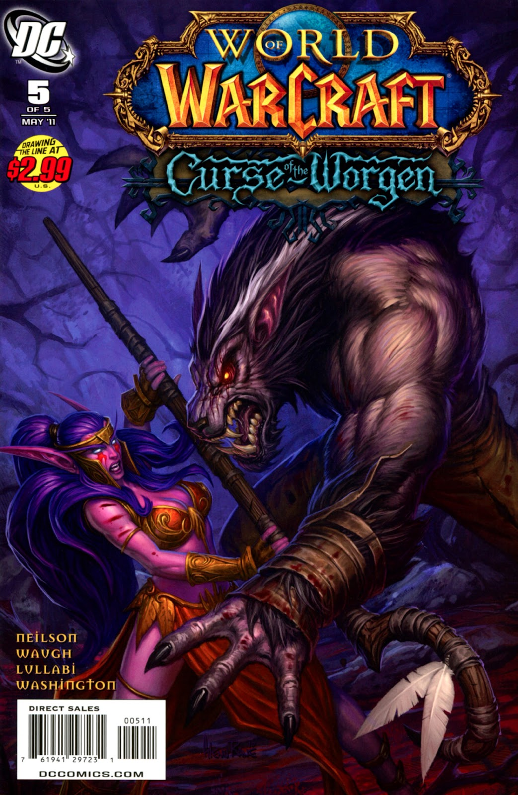 World of Warcraft: Curse of the Worgen issue 5 - Page 1