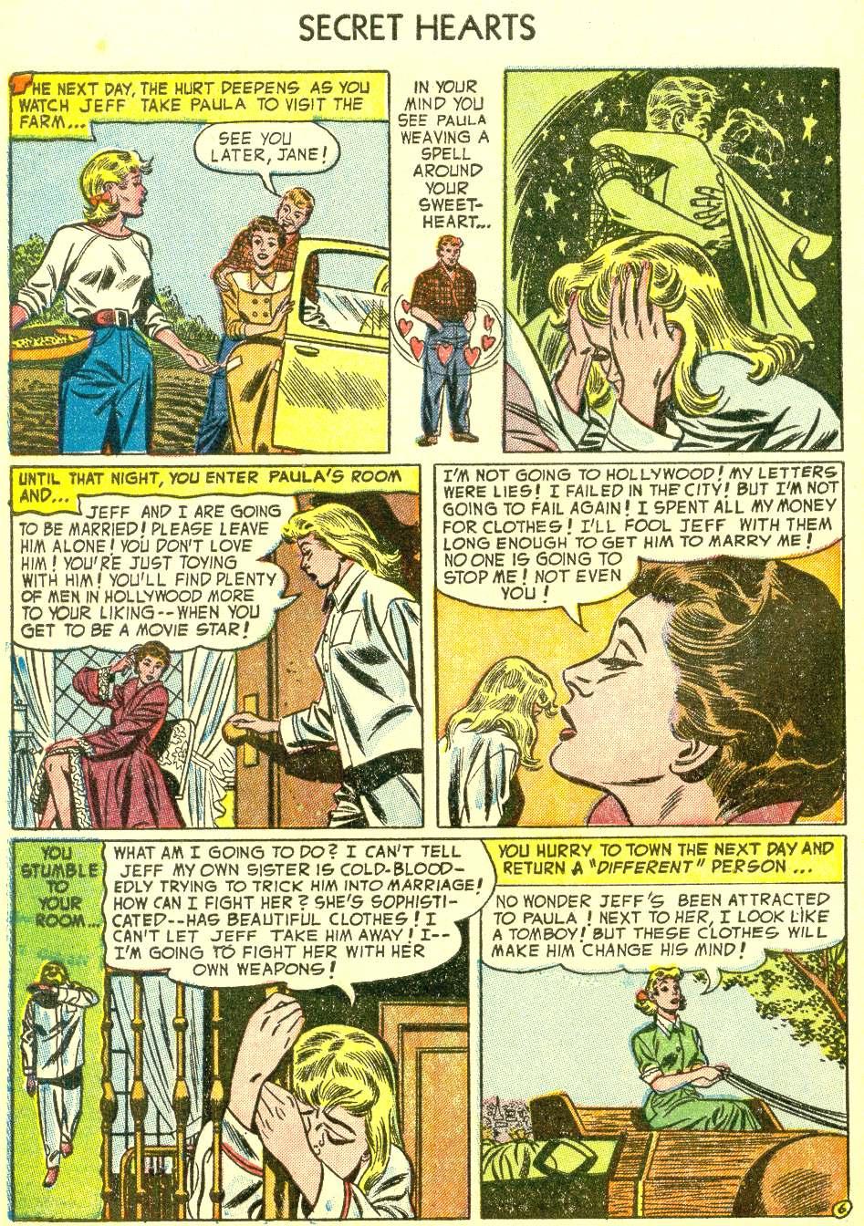 Read online Secret Hearts comic -  Issue #21 - 32