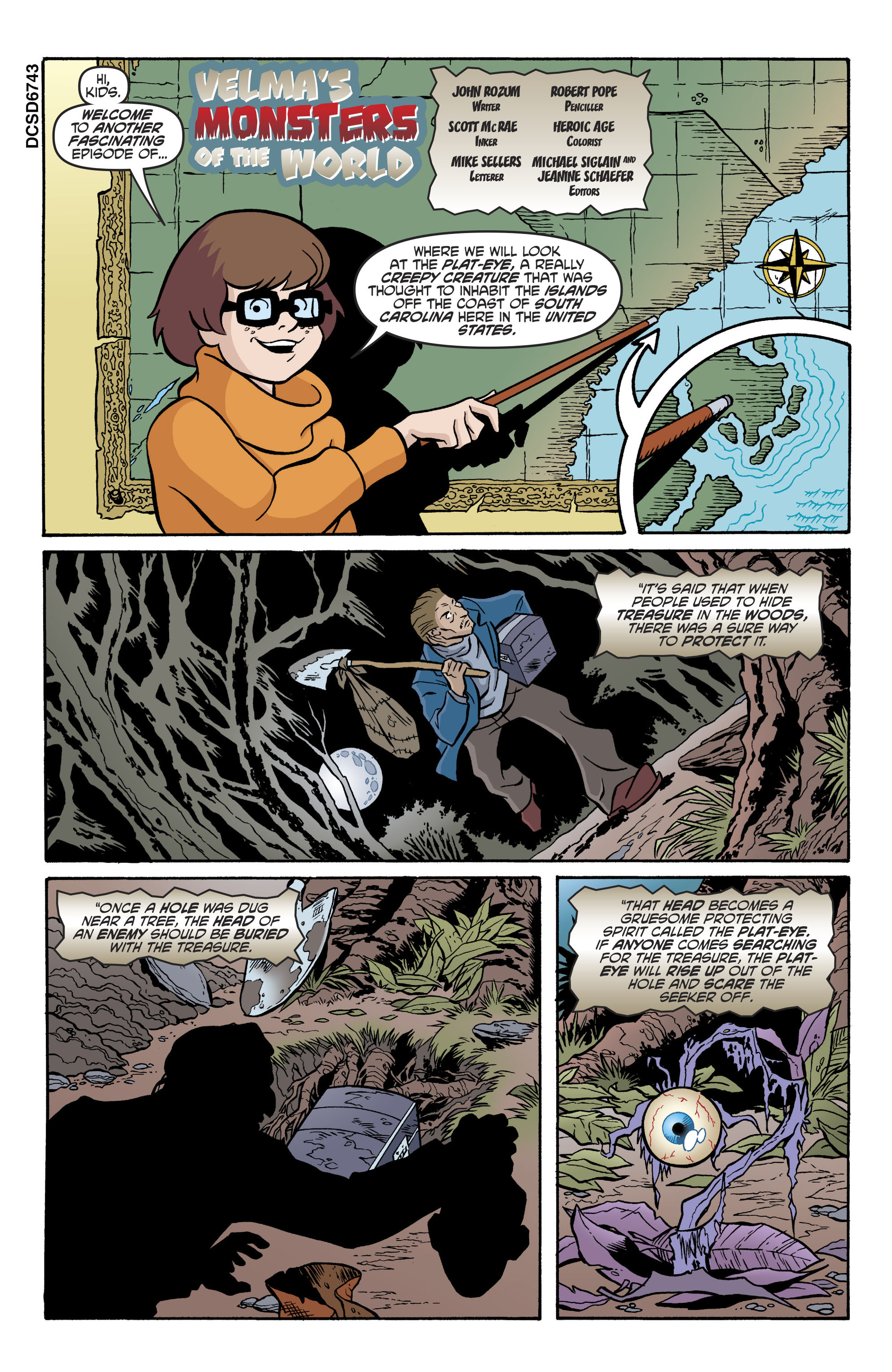 Read online Scooby-Doo: Where Are You? comic -  Issue #79 - 12