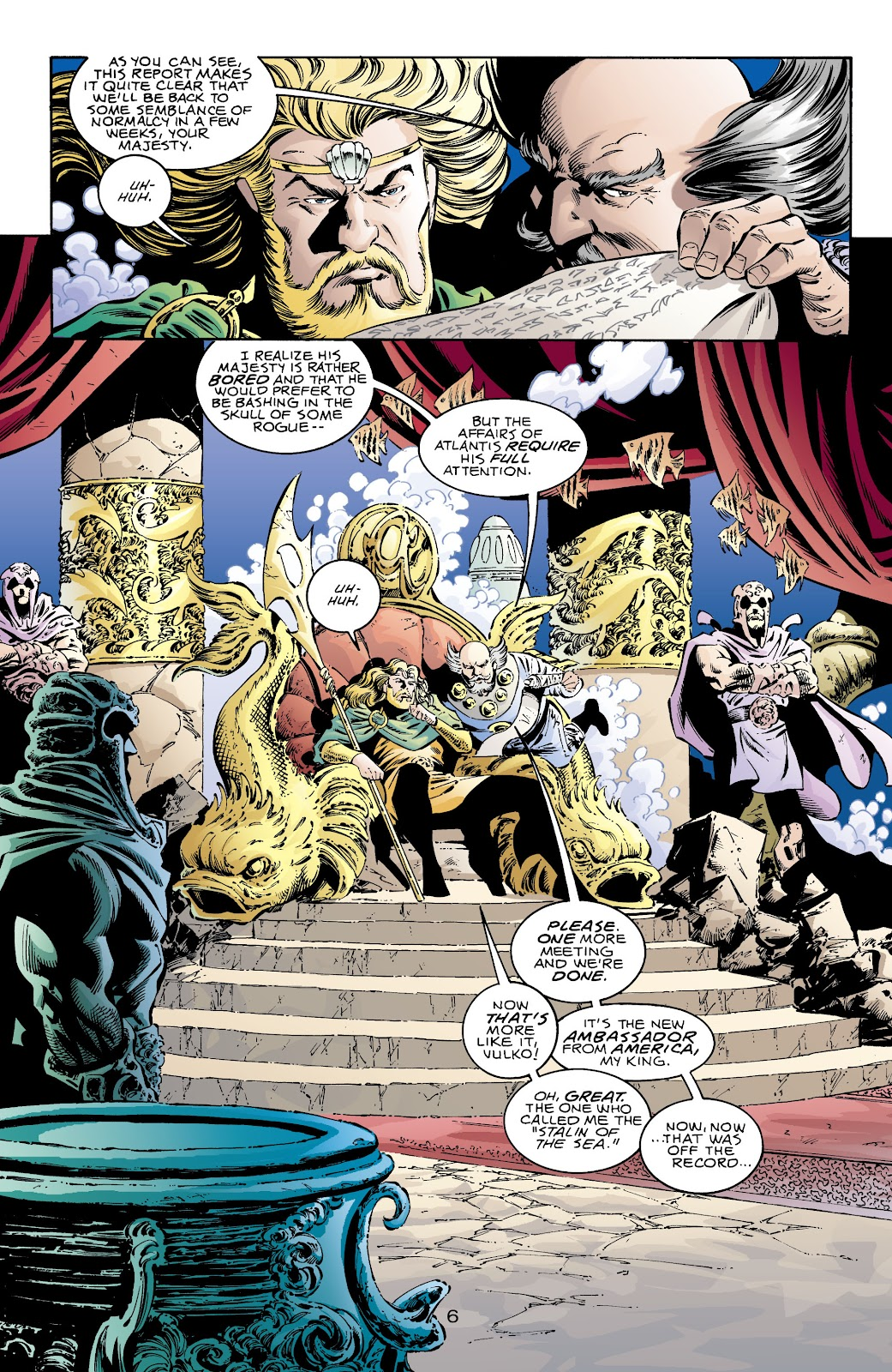 Aquaman (1994) Issue #71 #77 - English 7