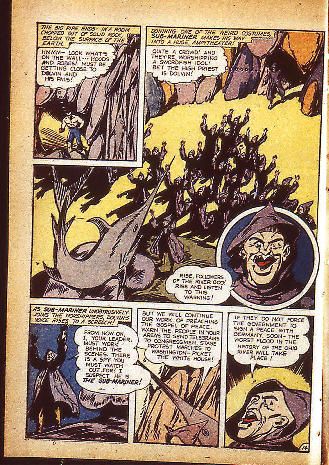 Sub-Mariner Comics Issue #10 #10 - English 17