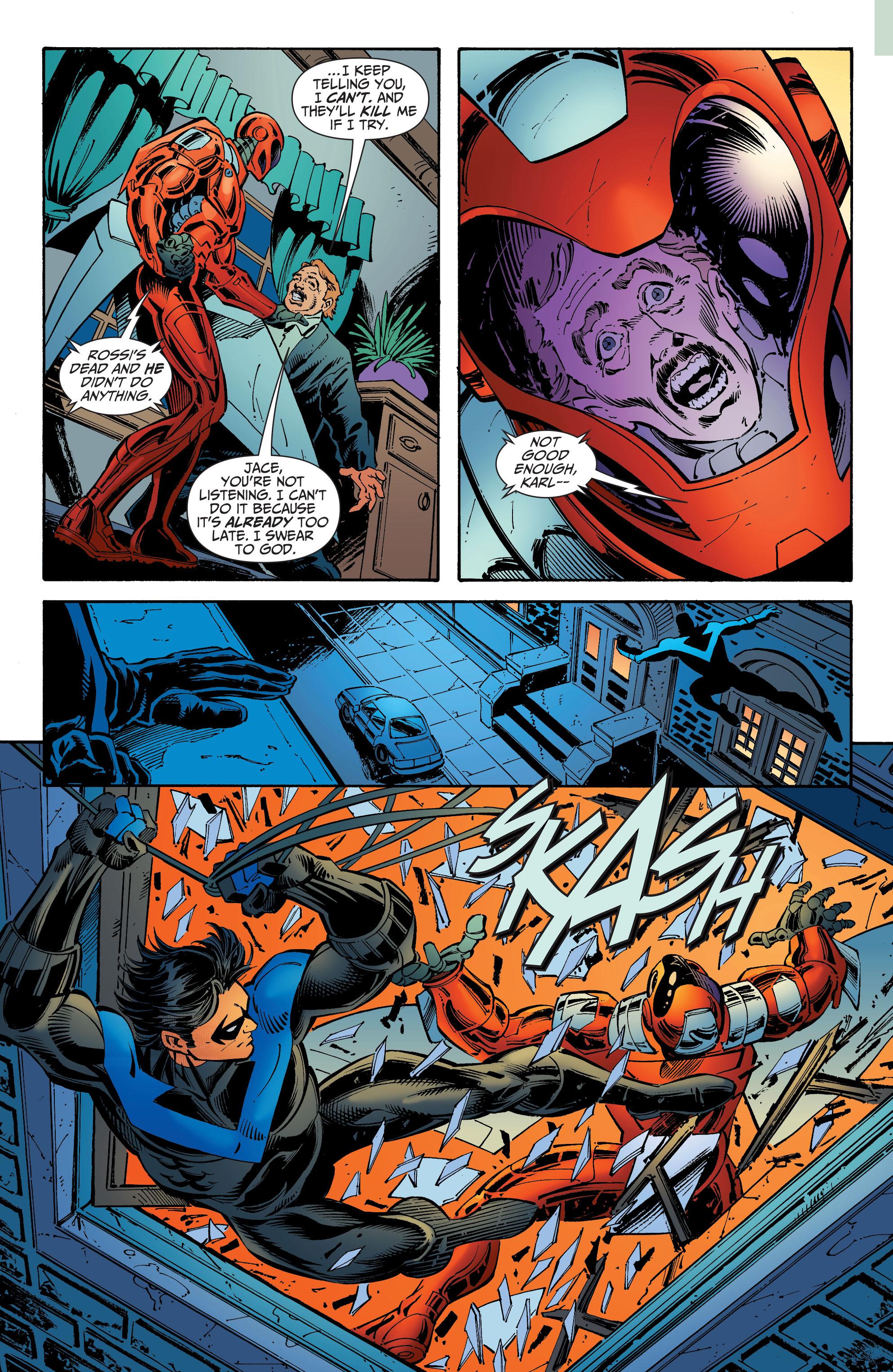 Nightwing 1996 series # 50 very fine comic book