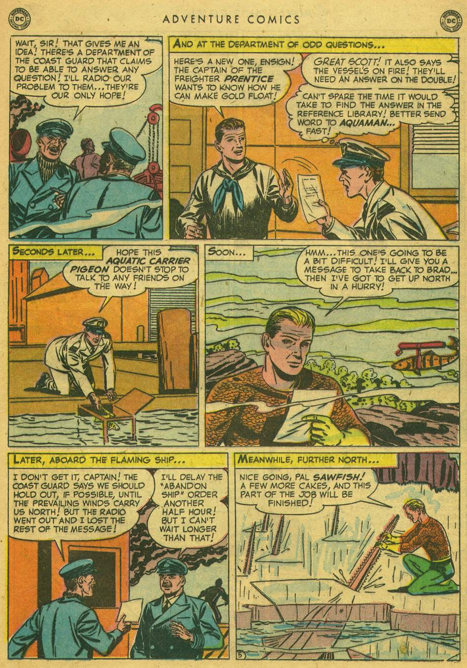 Read online Adventure Comics (1938) comic -  Issue #164 - 31