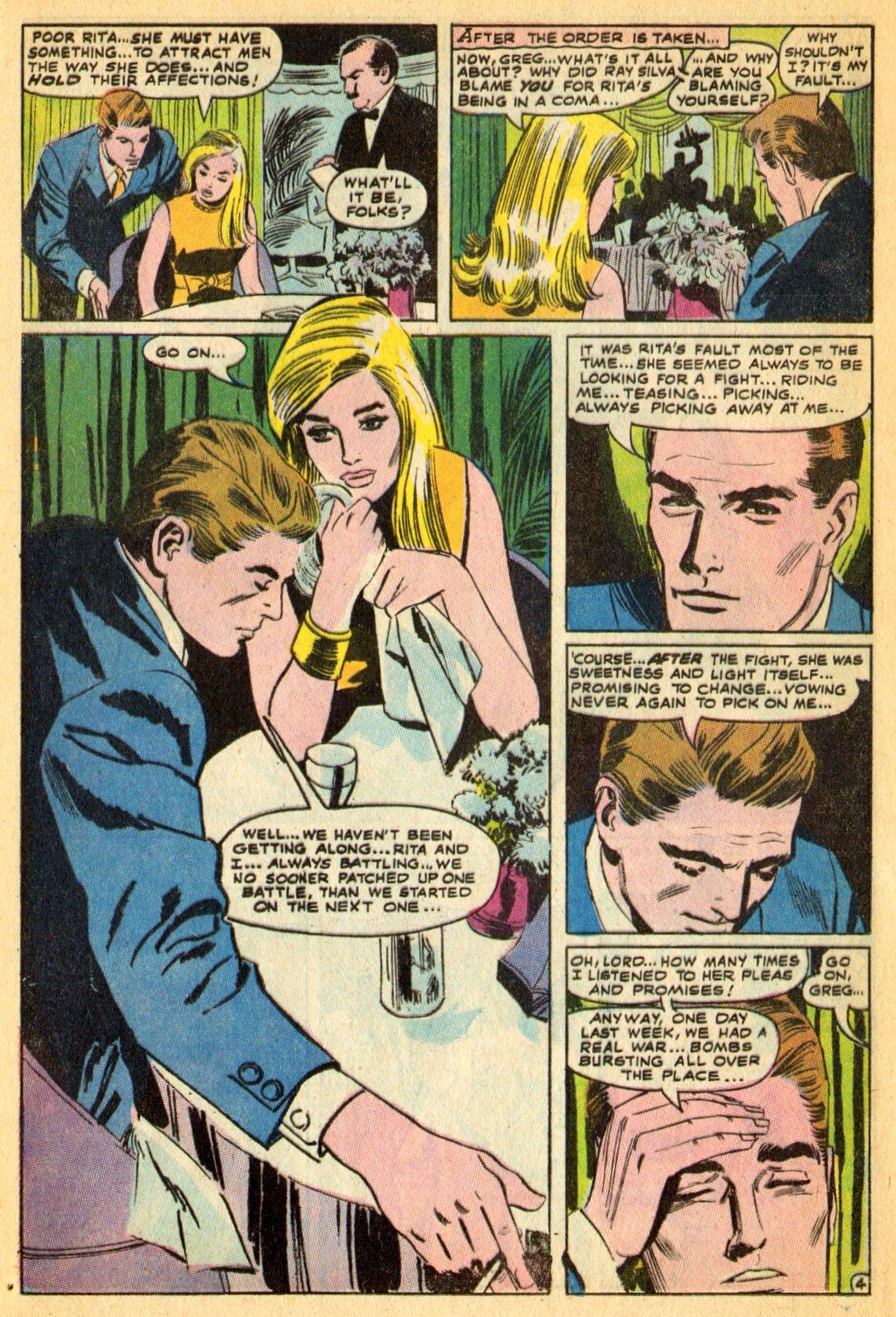 Read online Secret Hearts comic -  Issue #134 - 24