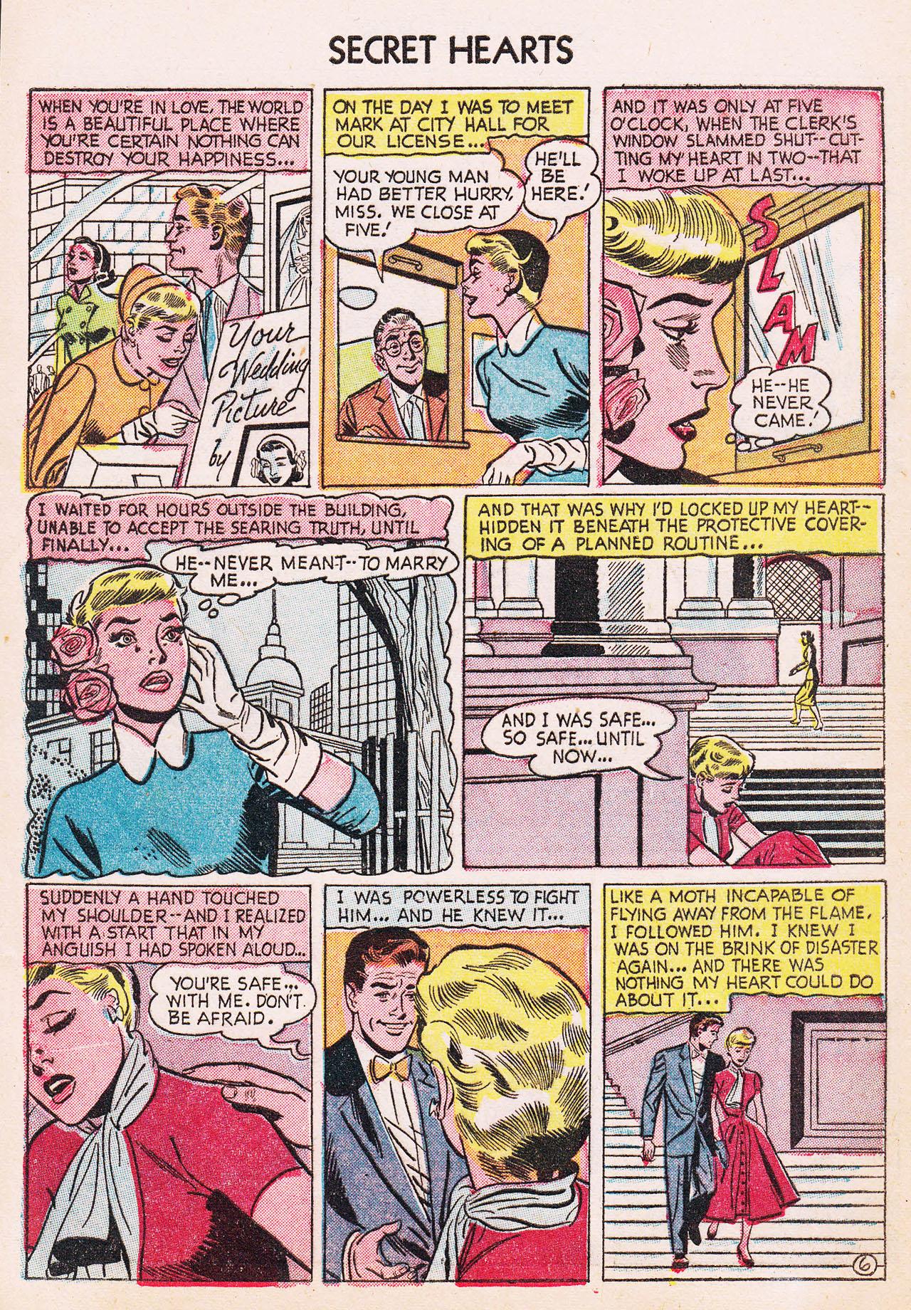 Read online Secret Hearts comic -  Issue #24 - 8