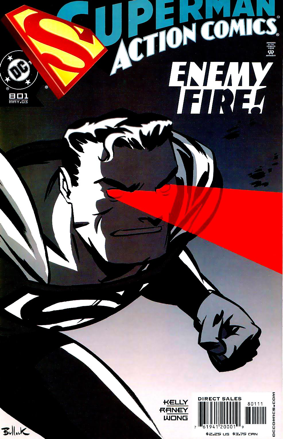 Action Comics (1938) 801 Page 1