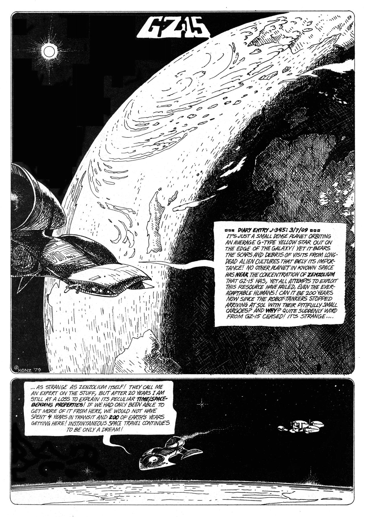 Read online Star*Reach comic -  Issue #17 - 21