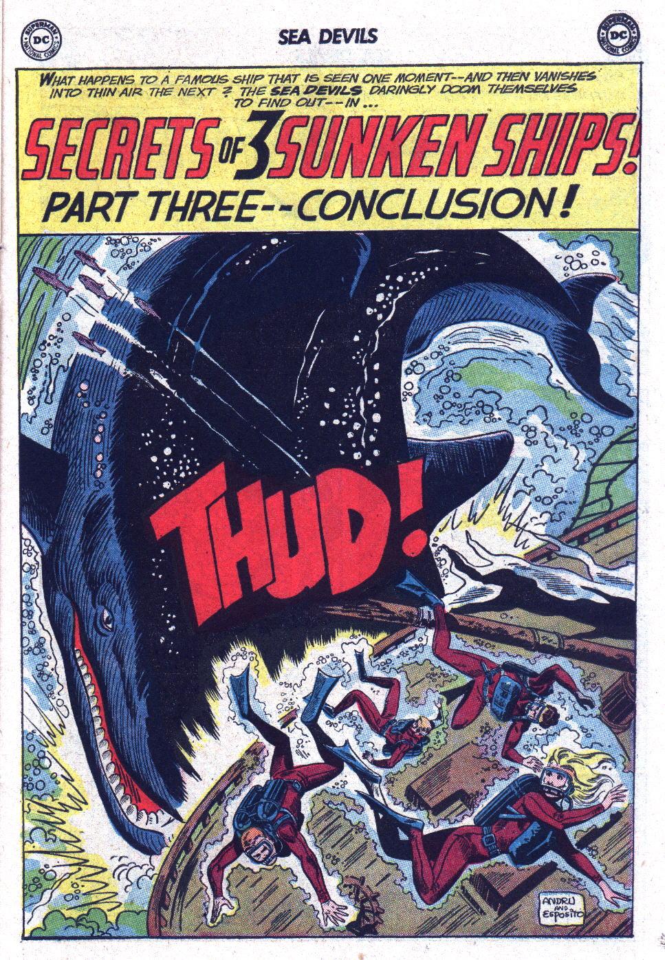 Read online Sea Devils comic -  Issue #13 - 23