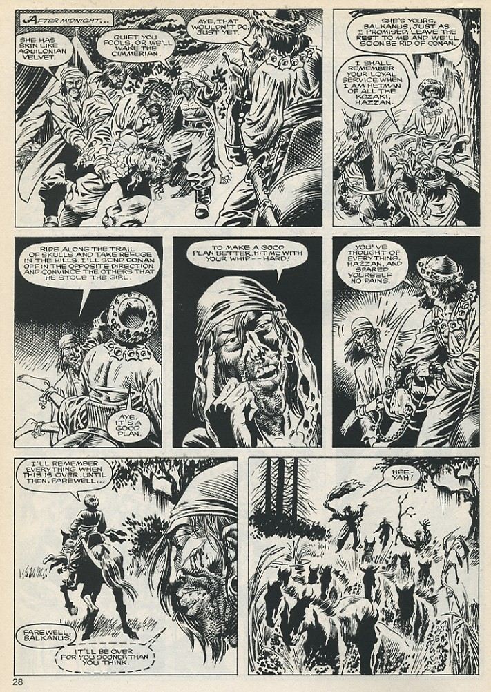 The Savage Sword Of Conan Issue #131 #132 - English 28