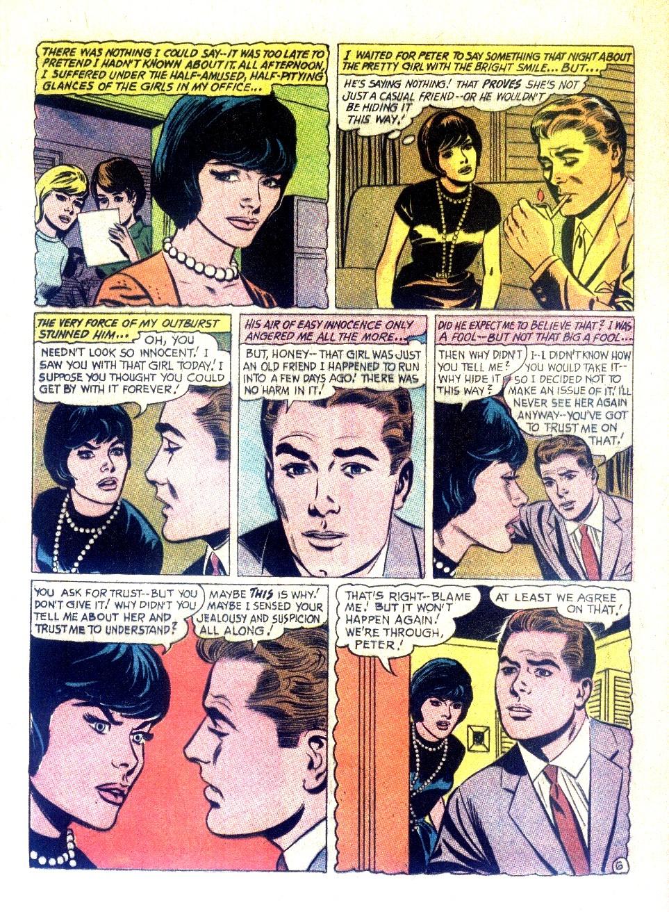 Read online Secret Hearts comic -  Issue #126 - 16