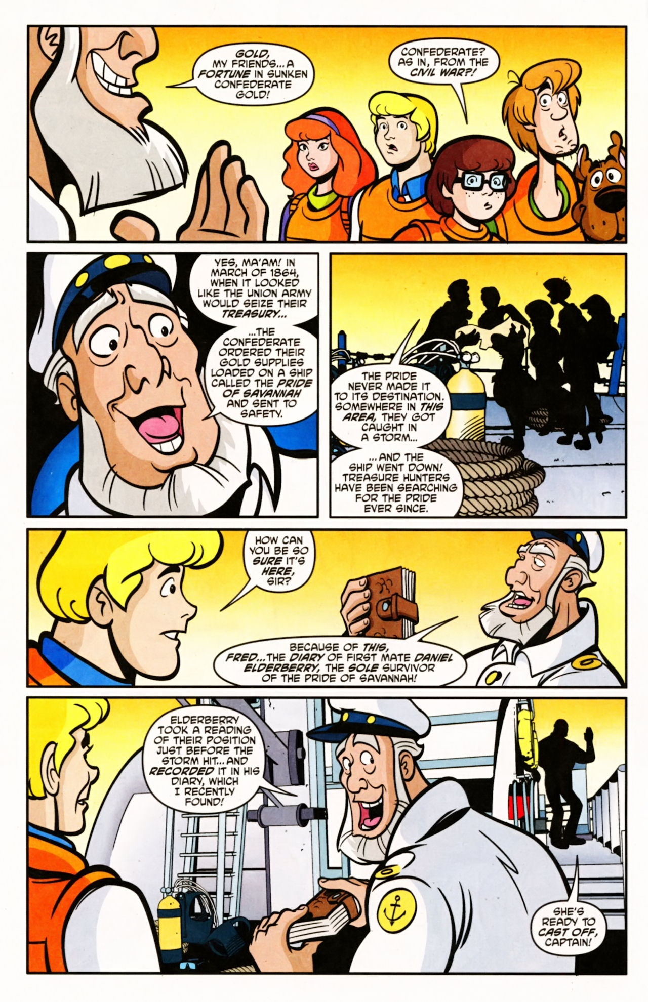 Read online Scooby-Doo (1997) comic -  Issue #154 - 3