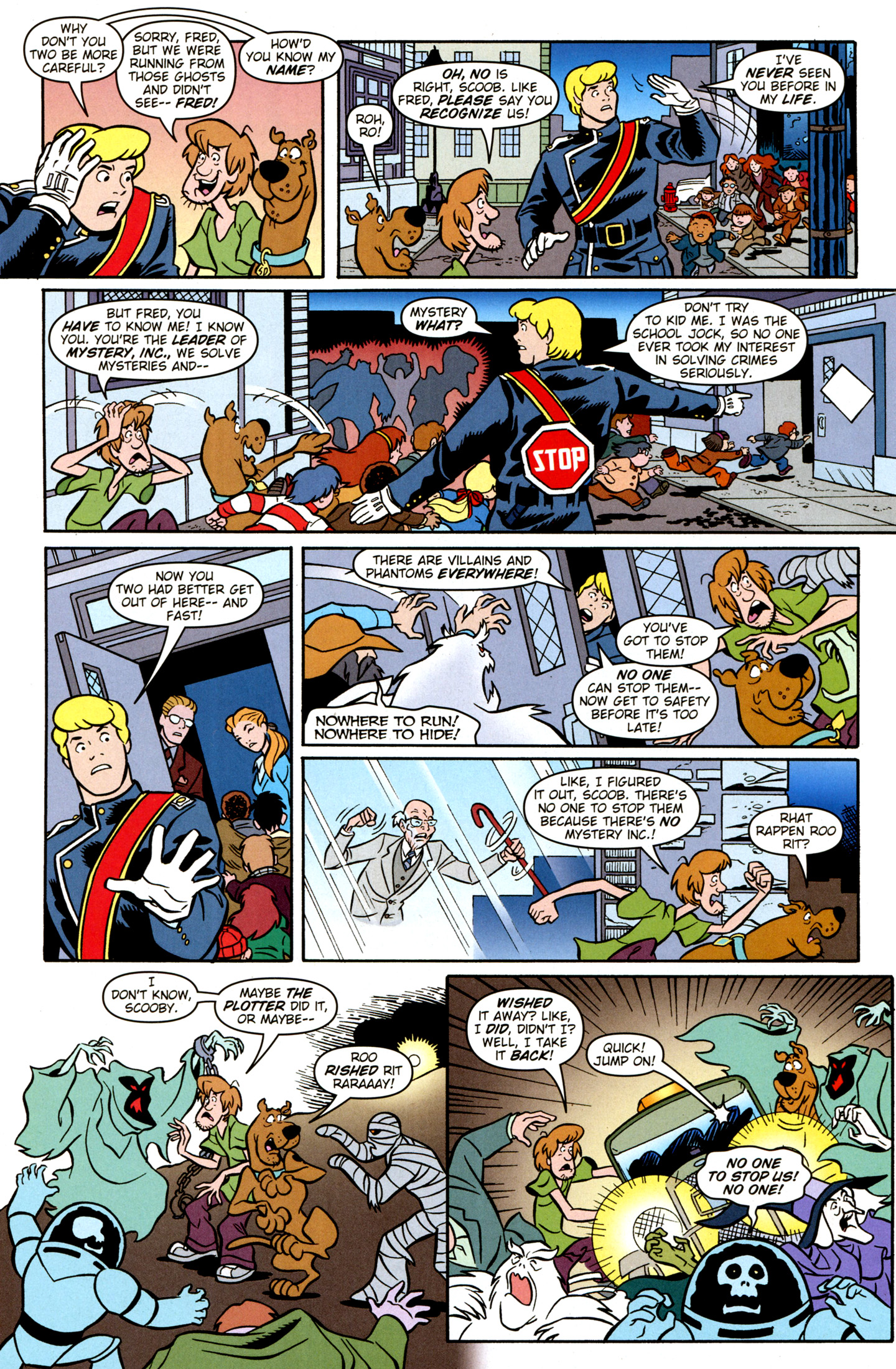Read online Scooby-Doo: Where Are You? comic -  Issue #28 - 24