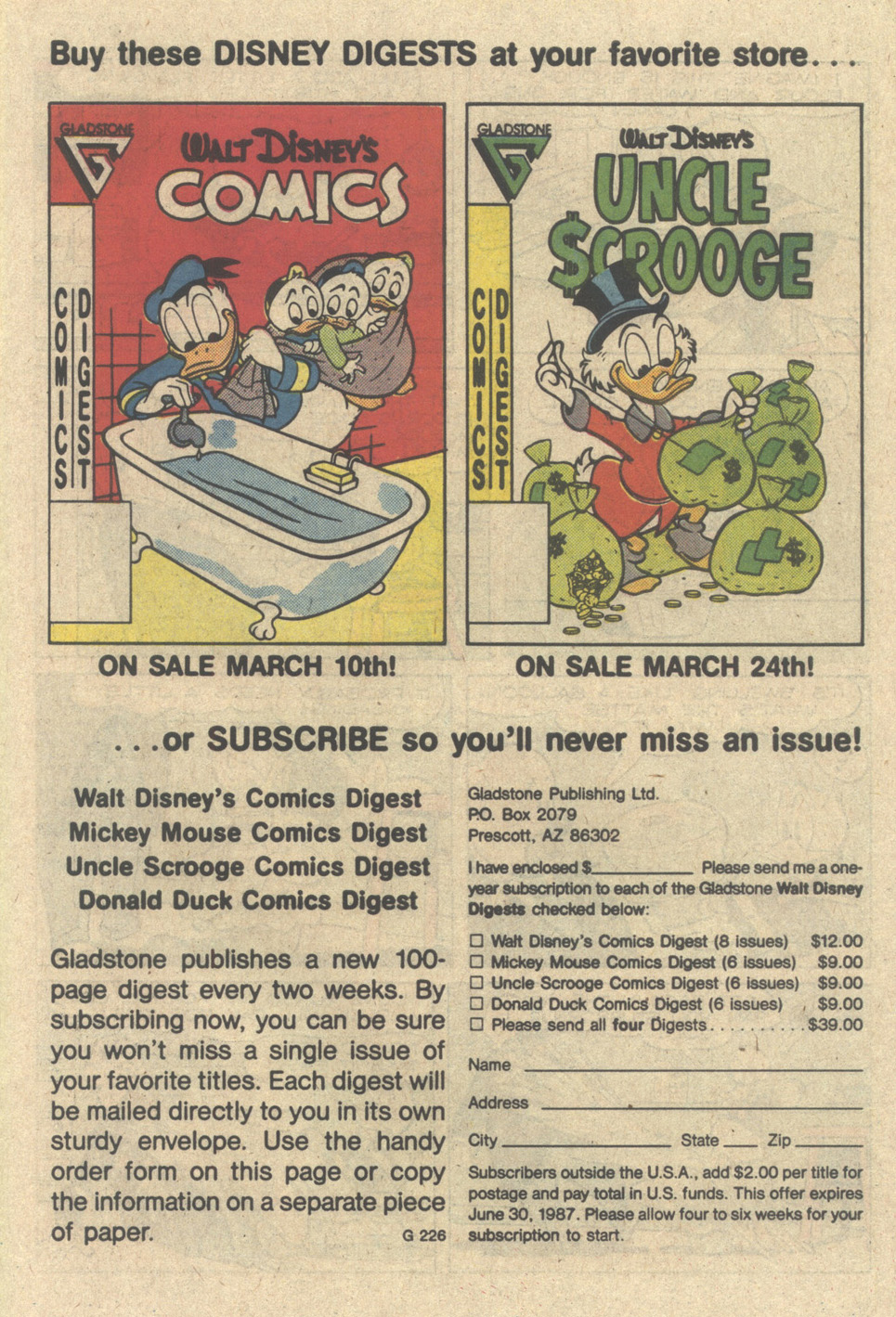 Uncle Scrooge (1953) Issue #218 #218 - English 27