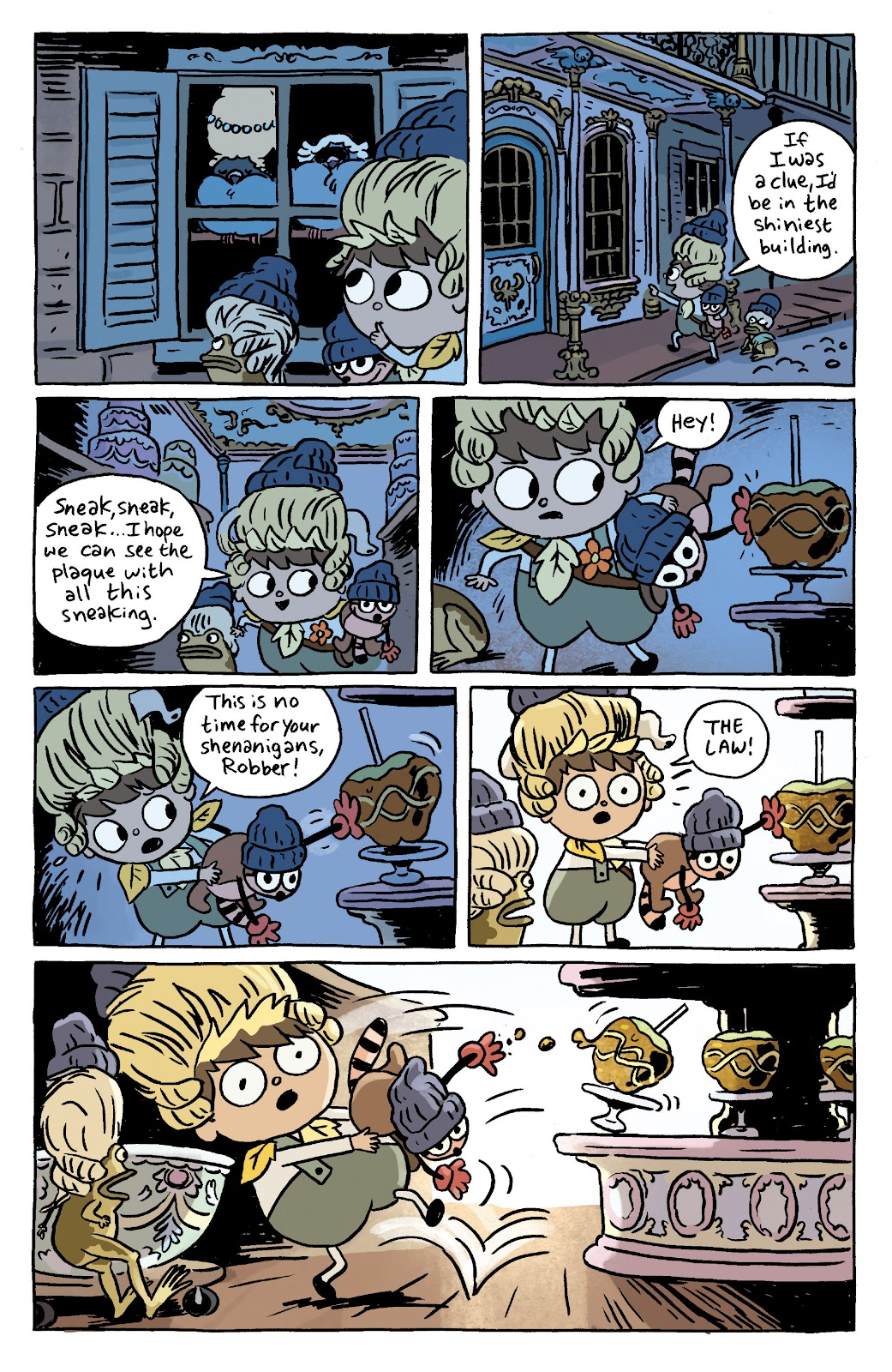 Over the Garden Wall (2016) Issue #7 #7 - English 10
