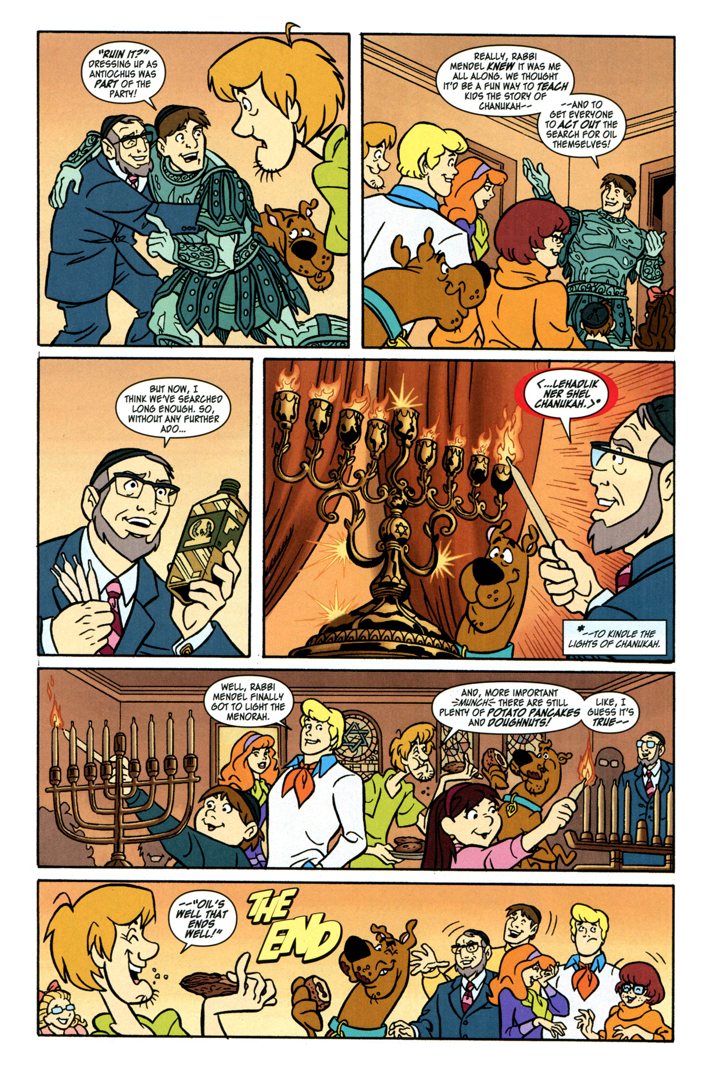 Read online Scooby-Doo: Where Are You? comic -  Issue #28 - 16