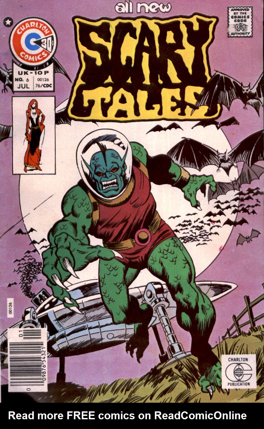 Read online Scary Tales comic -  Issue #6 - 1