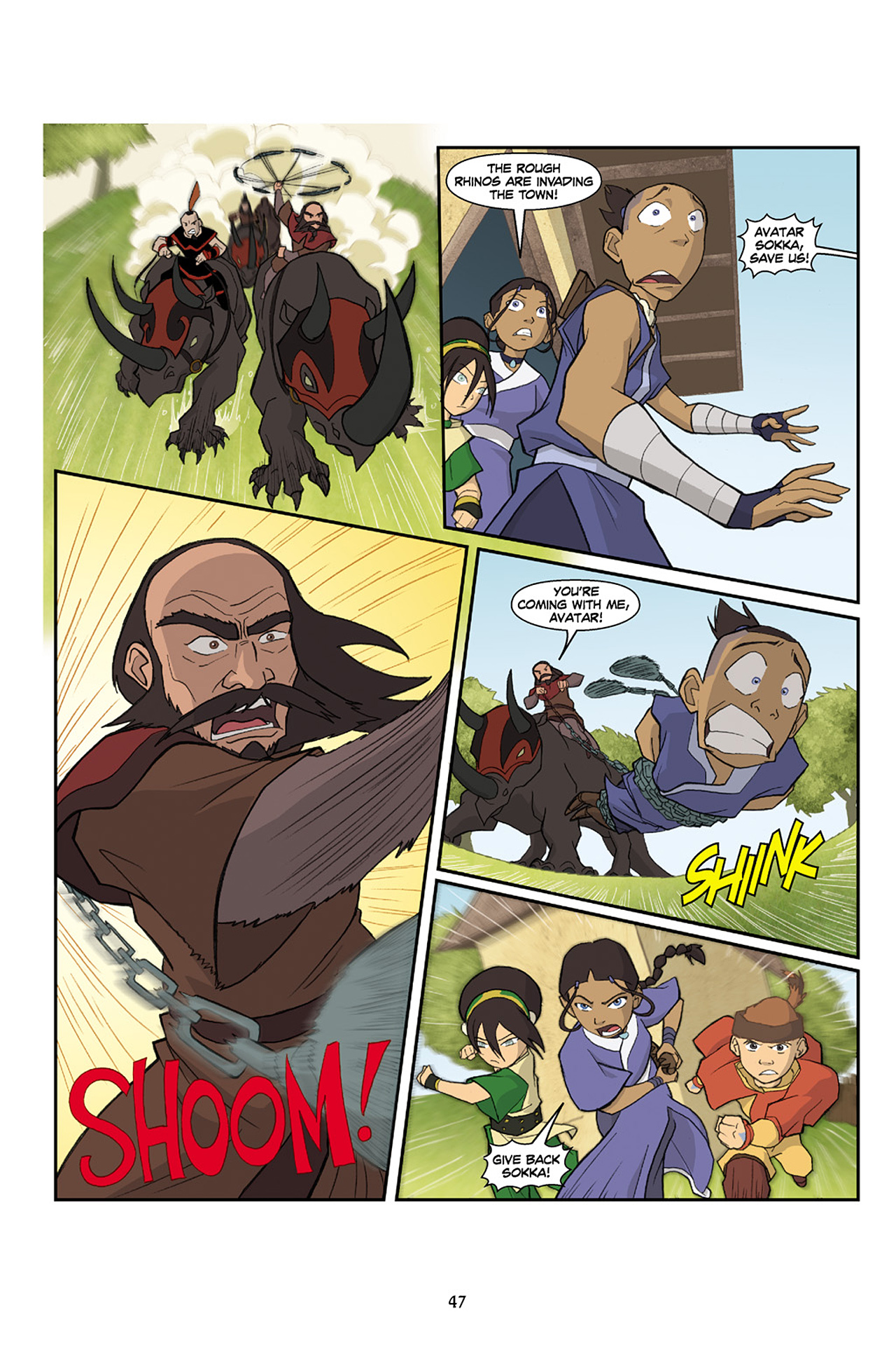 Nickelodeon Avatar: The Last Airbender - The Lost Adventures chap full pic 48