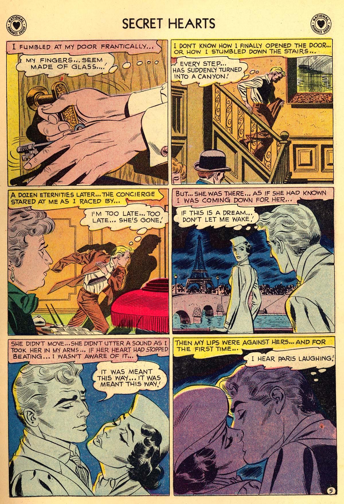 Read online Secret Hearts comic -  Issue #55 - 7