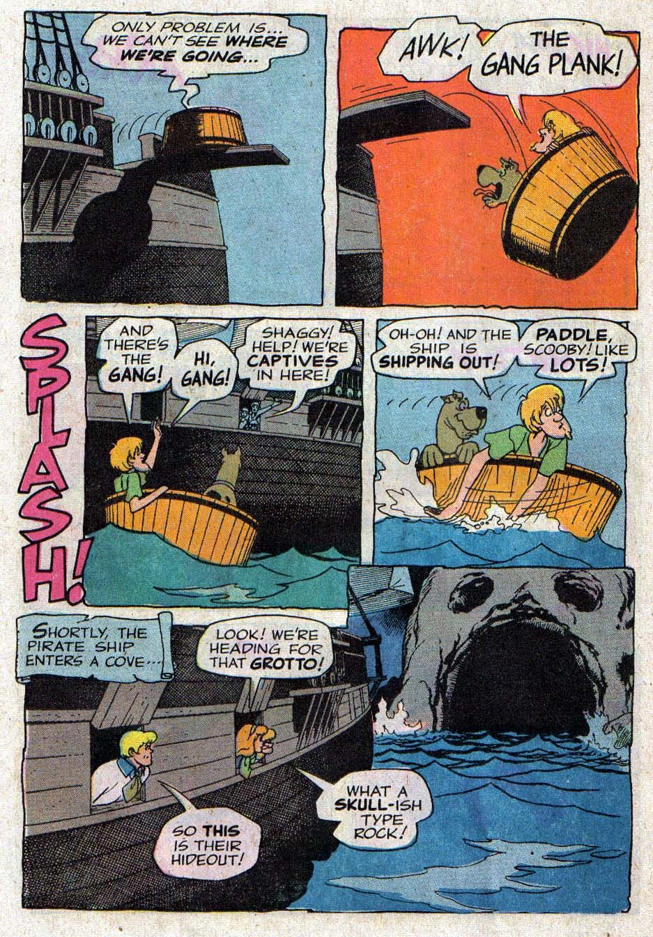 Read online Scooby-Doo... Mystery Comics comic -  Issue #26 - 17
