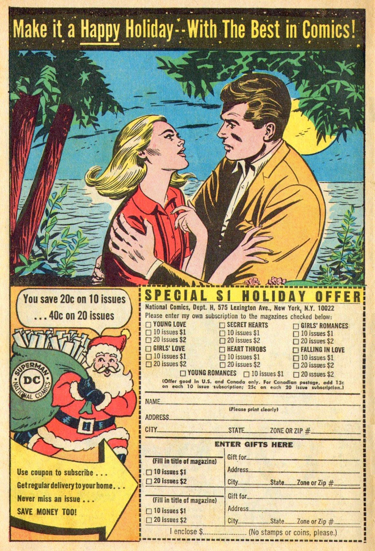 Read online Secret Hearts comic -  Issue #101 - 34